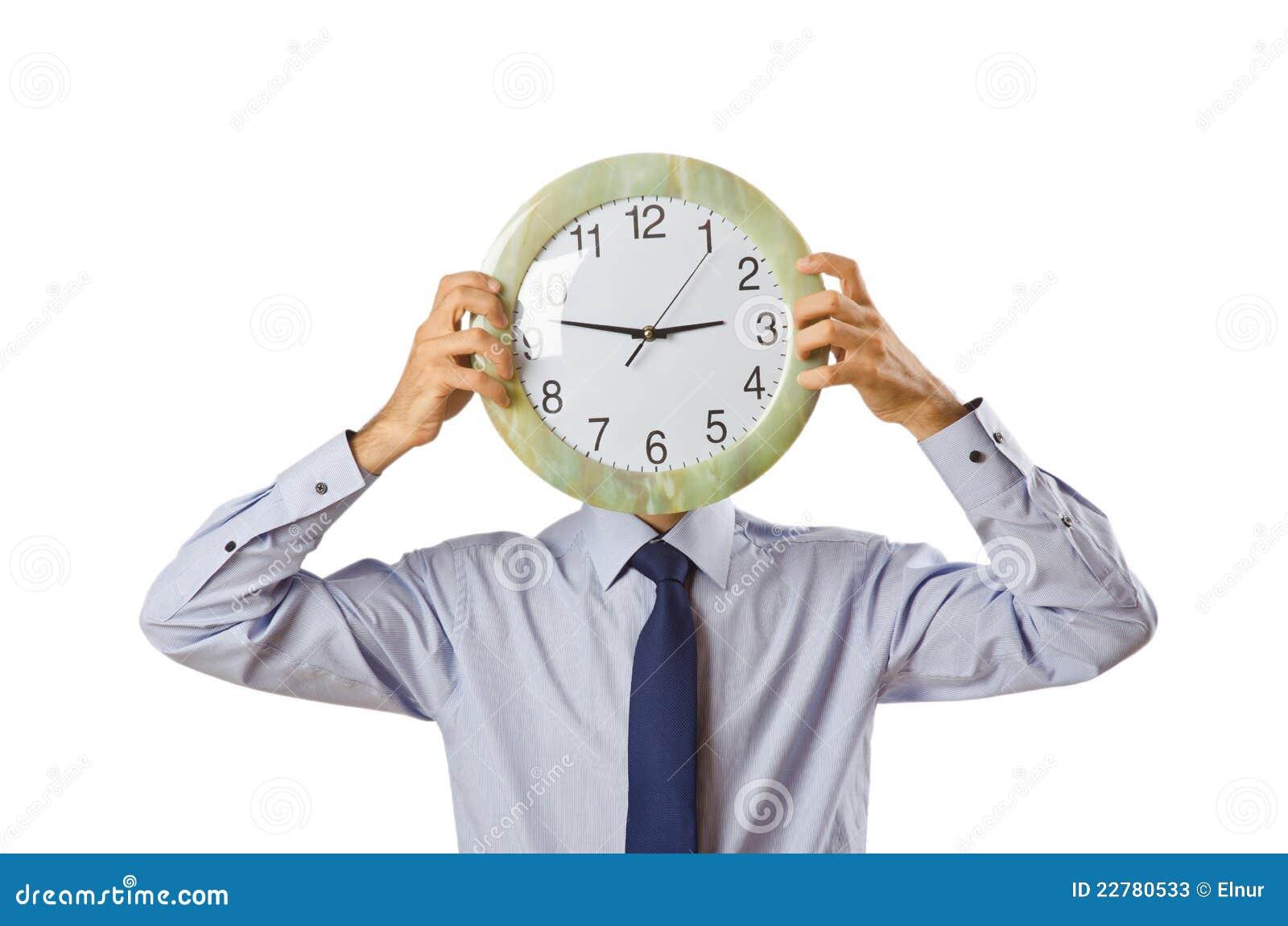 ρολόι επιχειρηματιών που