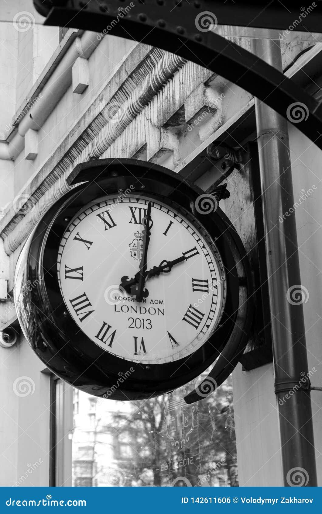 Ρολόι στο ξενοδοχείο του Λονδίνου σε Kyiv