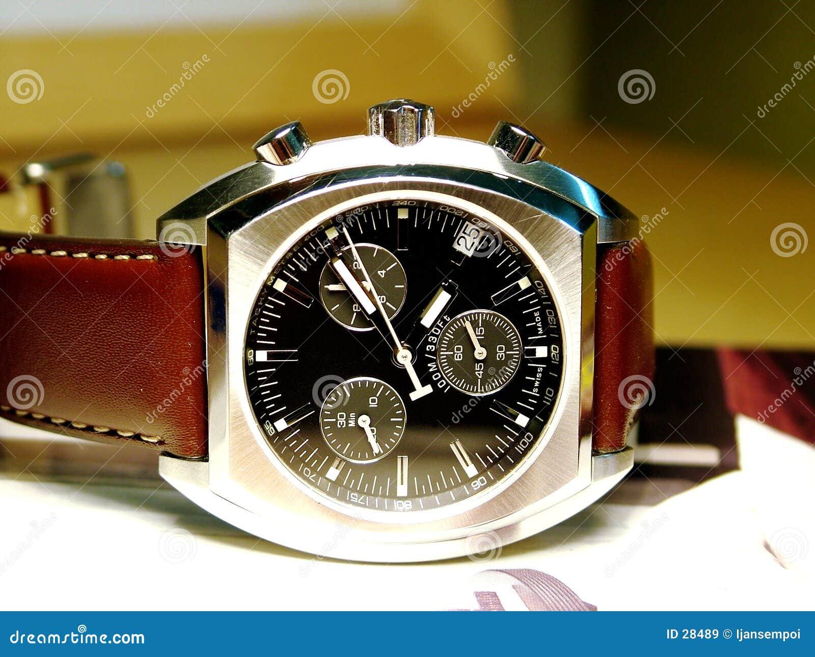 Download ρολόι στοκ εικόνα. εικόνα από δείτε, μυαλό, πάρτε, παρευρίσκεται - 28489