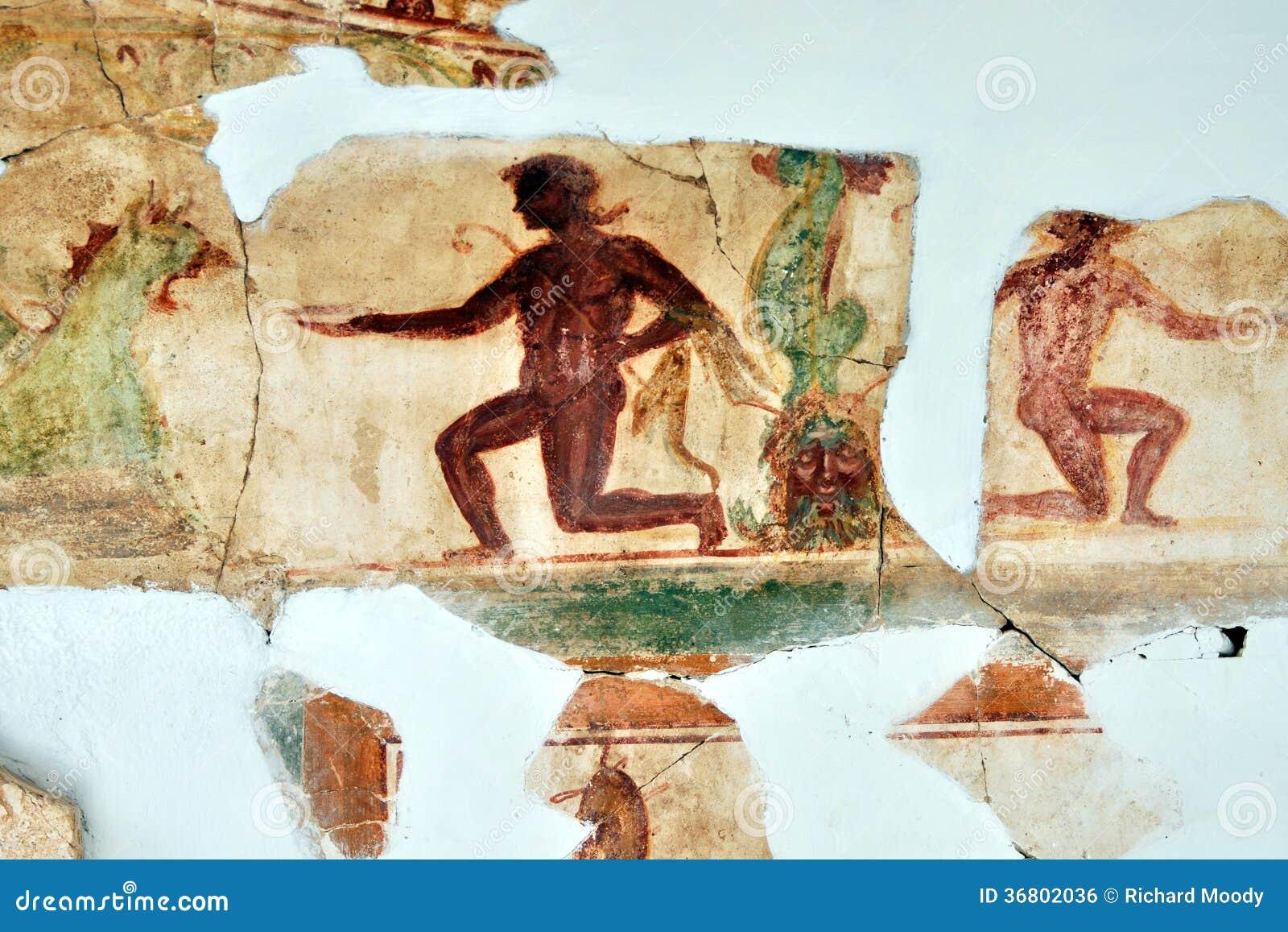 Ρομάν Mosaic, Leptis μεγάλο