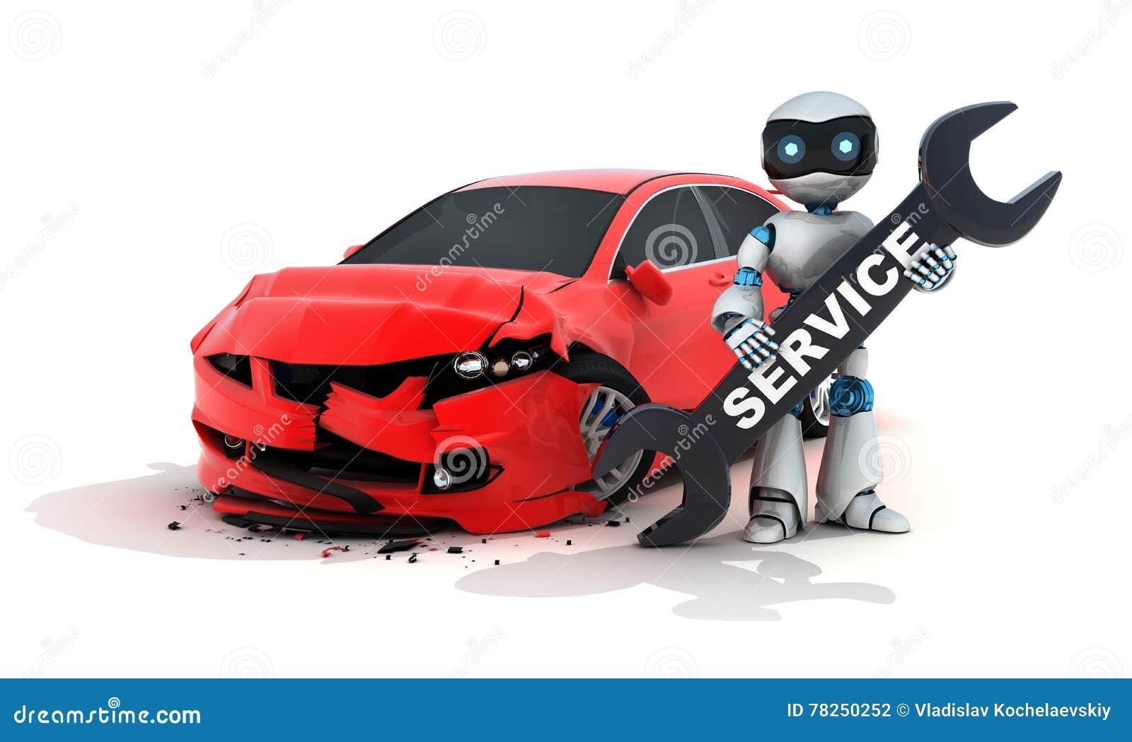 Ρομπότ αυτοκινήτων και υπηρεσιών