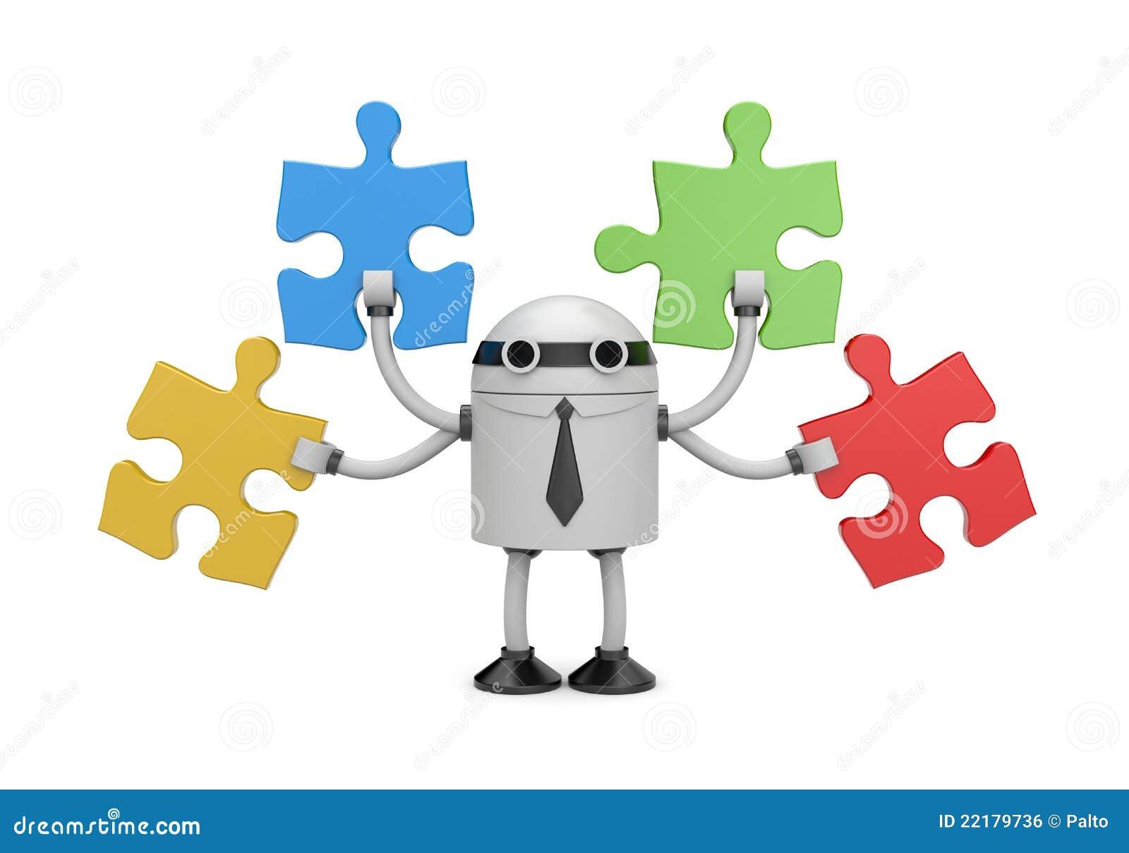 ρομπότ γρίφων επιχειρηματι