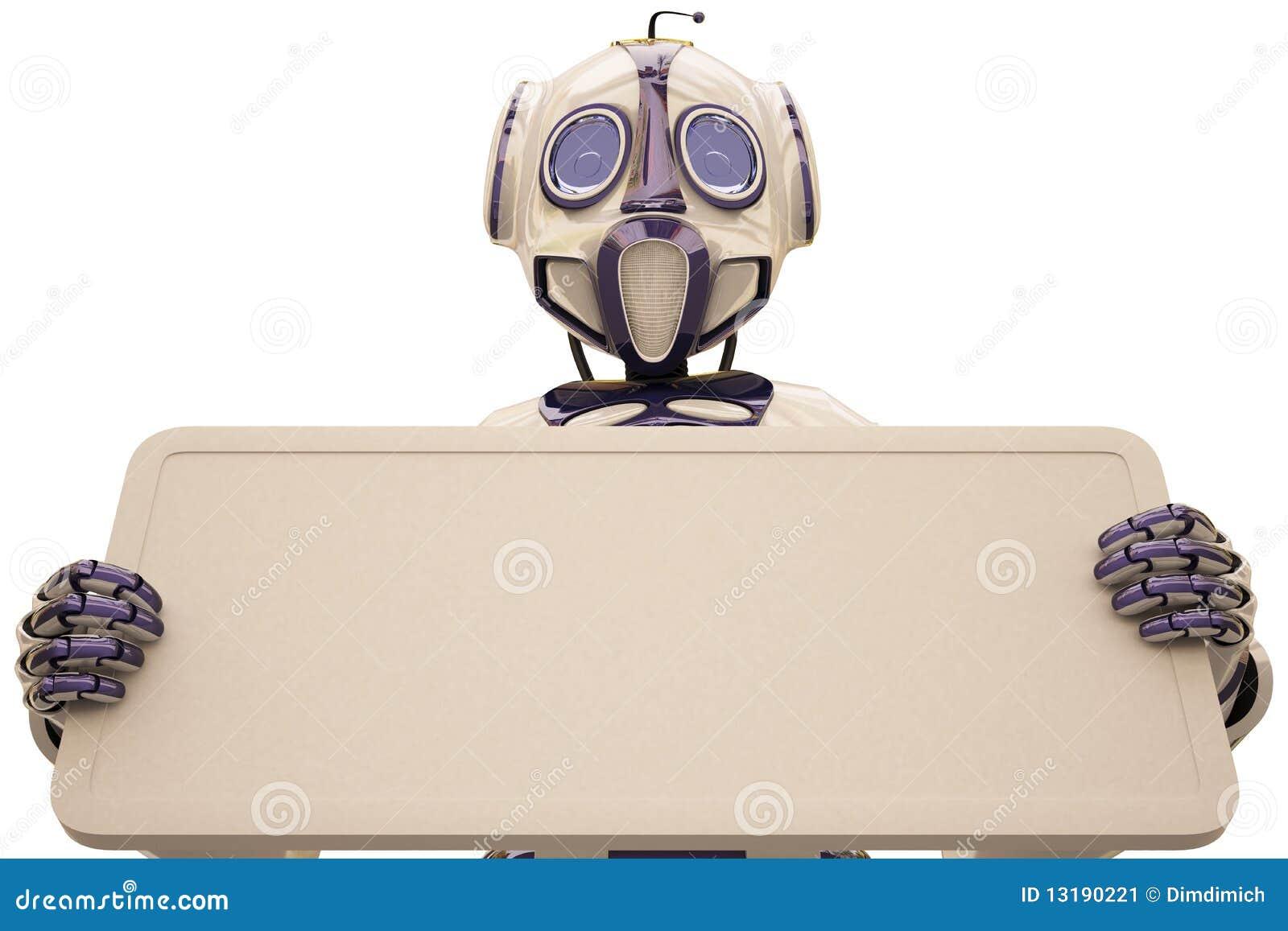 ρομπότ πινάκων διαφημίσεων