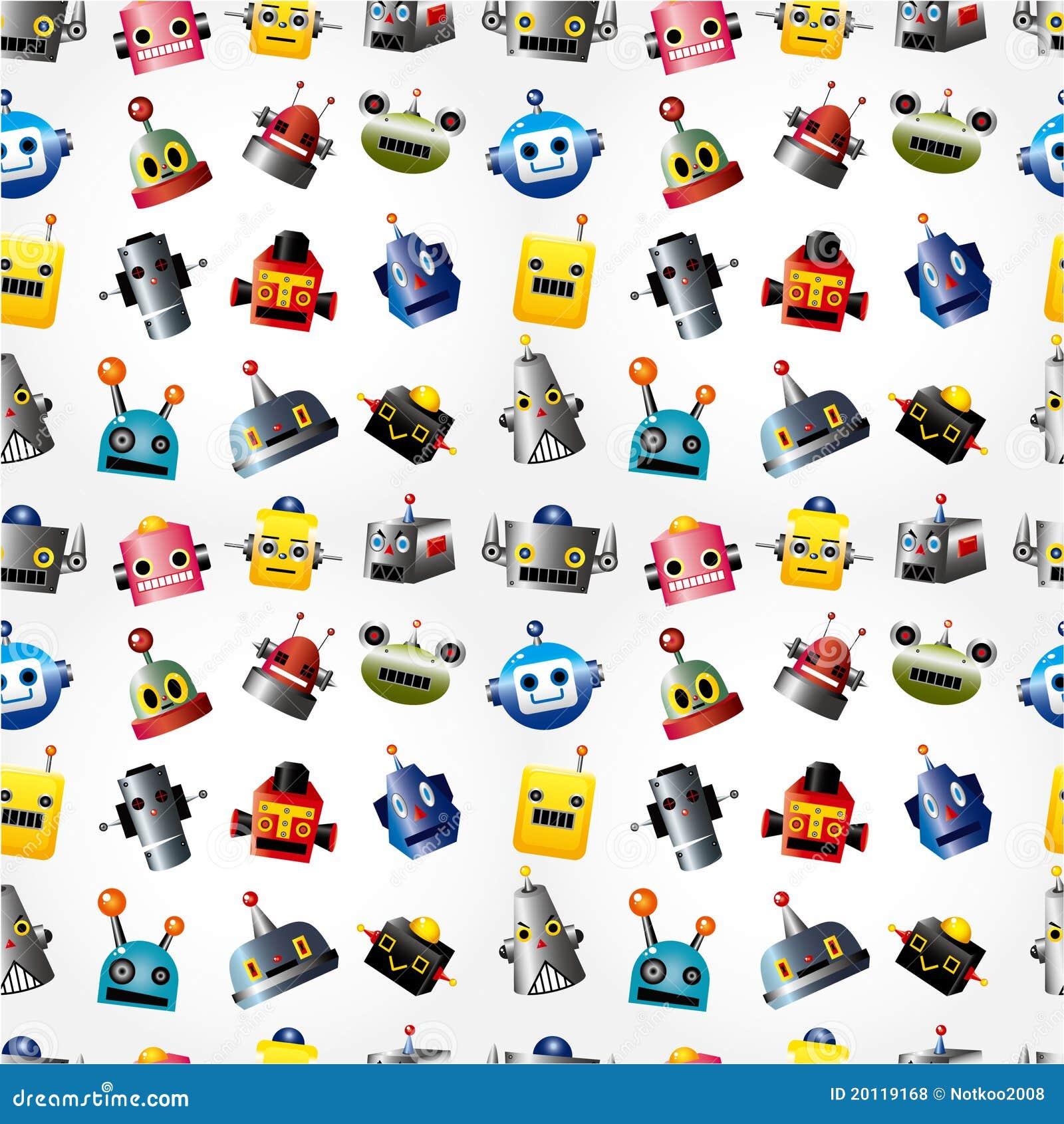 ρομπότ προτύπων προσώπου κ&iota