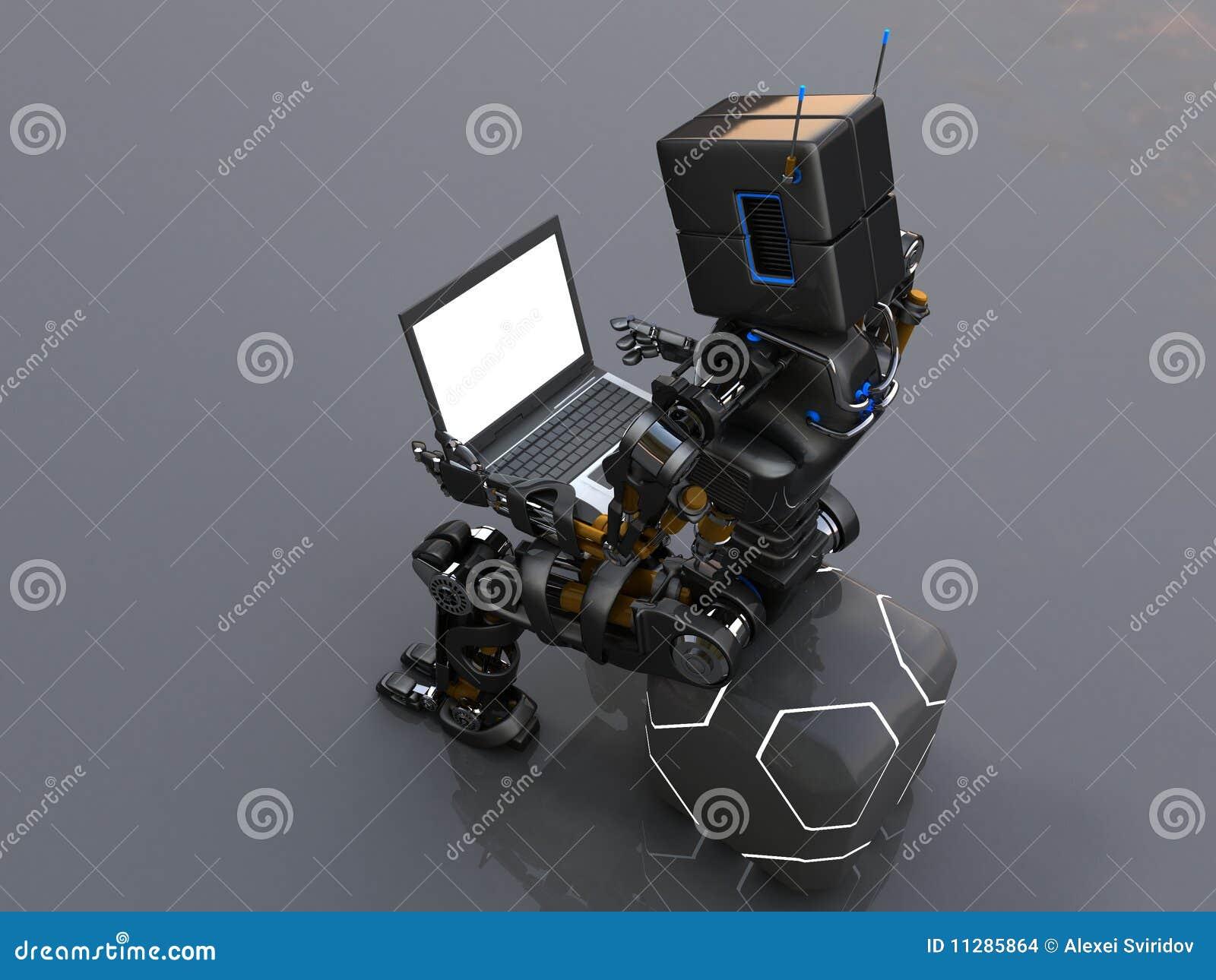 ρομπότ lap-top