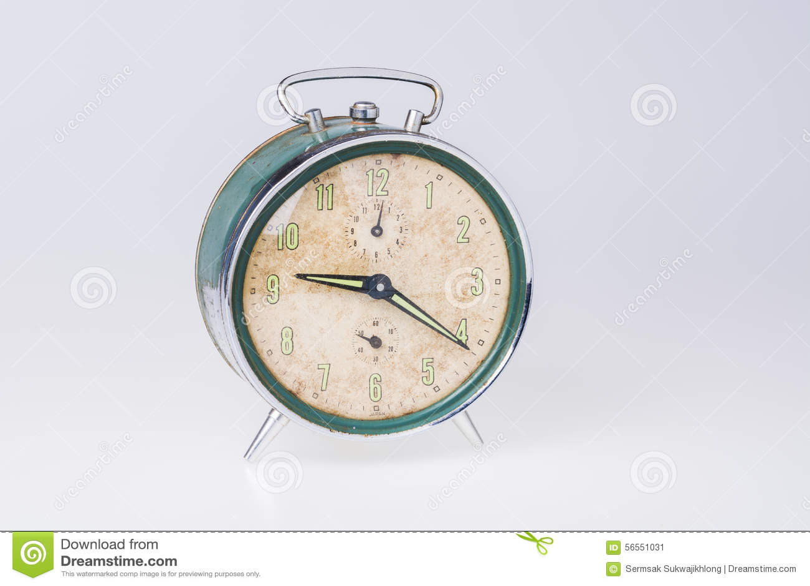 Download ρολόι συναγερμών παλαιό στοκ εικόνα. εικόνα από ώρα, συναγερμό - 56551031