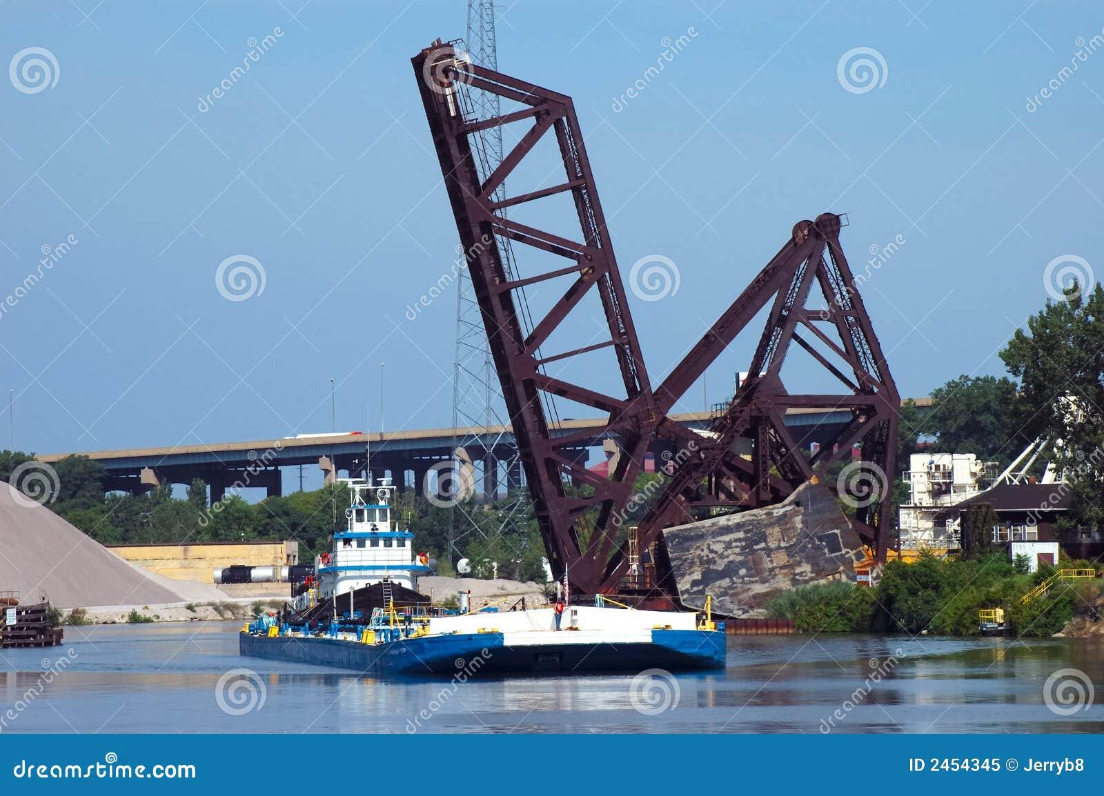 ρυμουλκό γεφυρών βαρκών RR