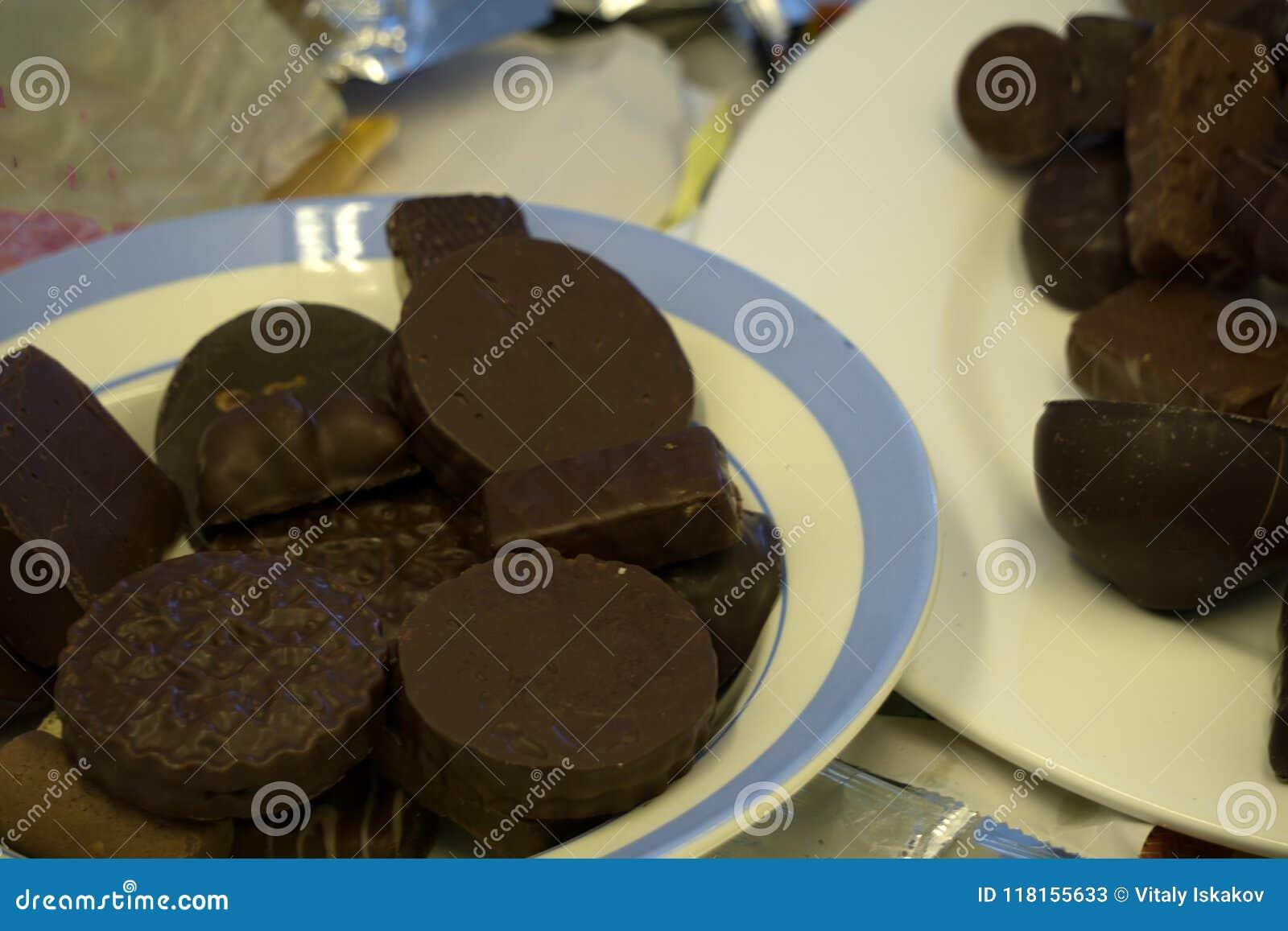 μαύρο σωλήνα σοκολάτας