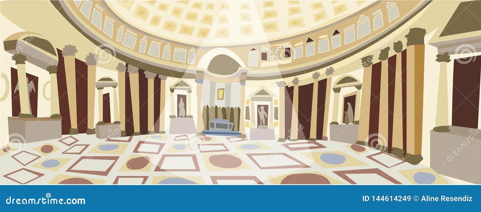 Ρωμαϊκό διάνυσμα Pantheon