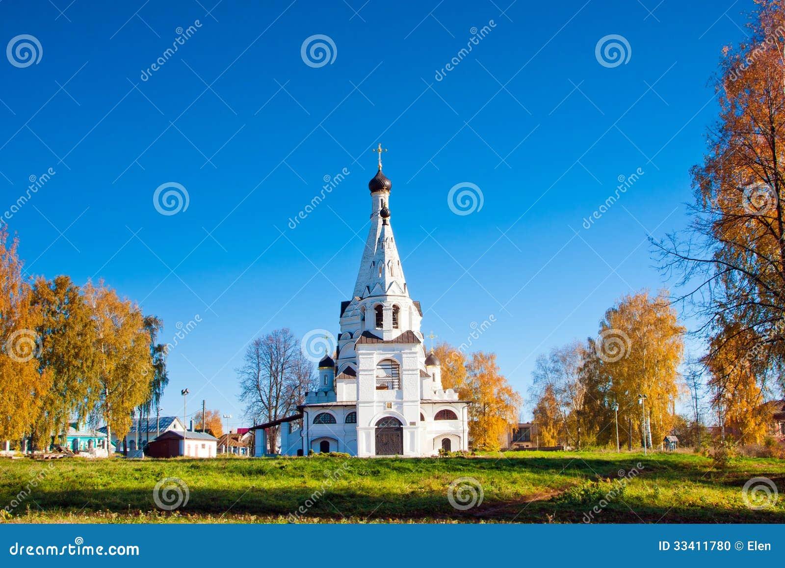 Ρωσία, εκκλησία στο NA Volge Krasnoe