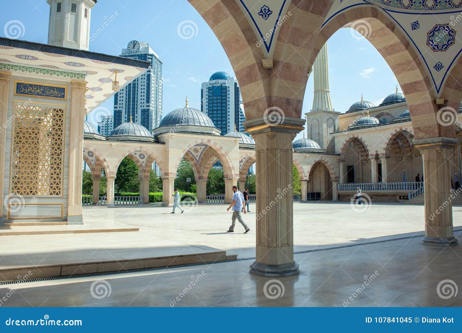 Ρωσία Τσετσένια Δημοκρατία Πόλη του Γκρόζνυ 1 Σεπτεμβρίου 2017