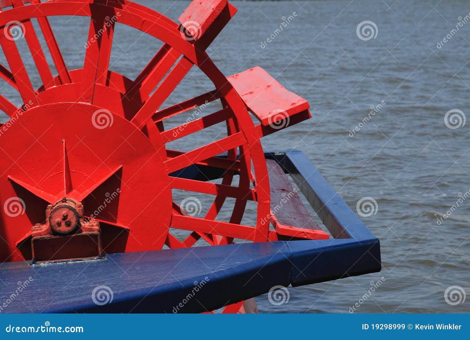 ρόδα κουπιών riverboat
