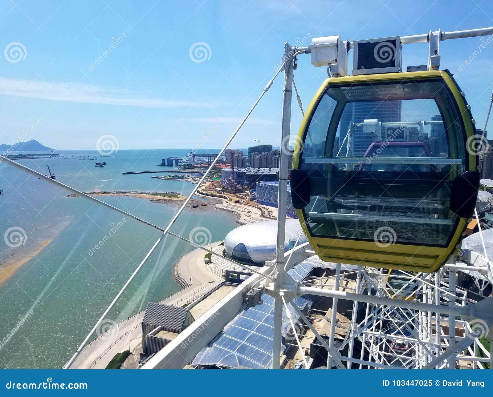 Ρόδα Ferris από Qingdao