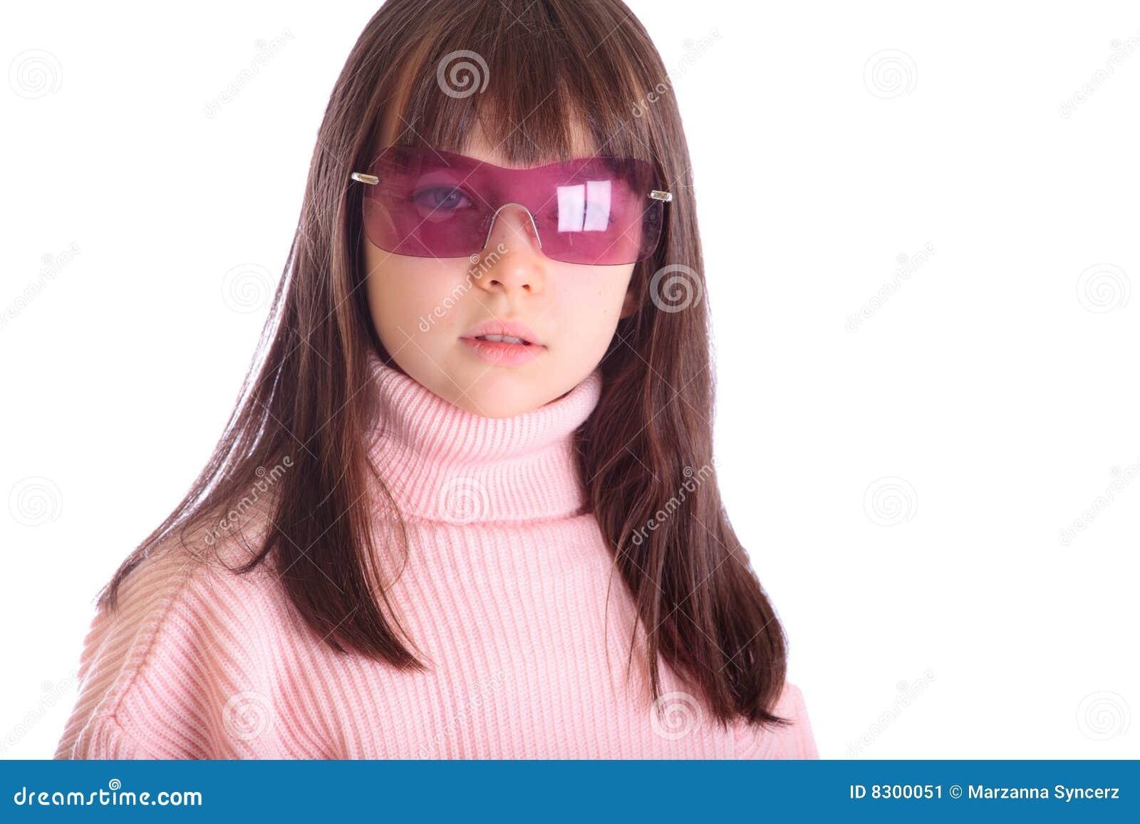 ρόδινα γυαλιά ηλίου κοριτσιών