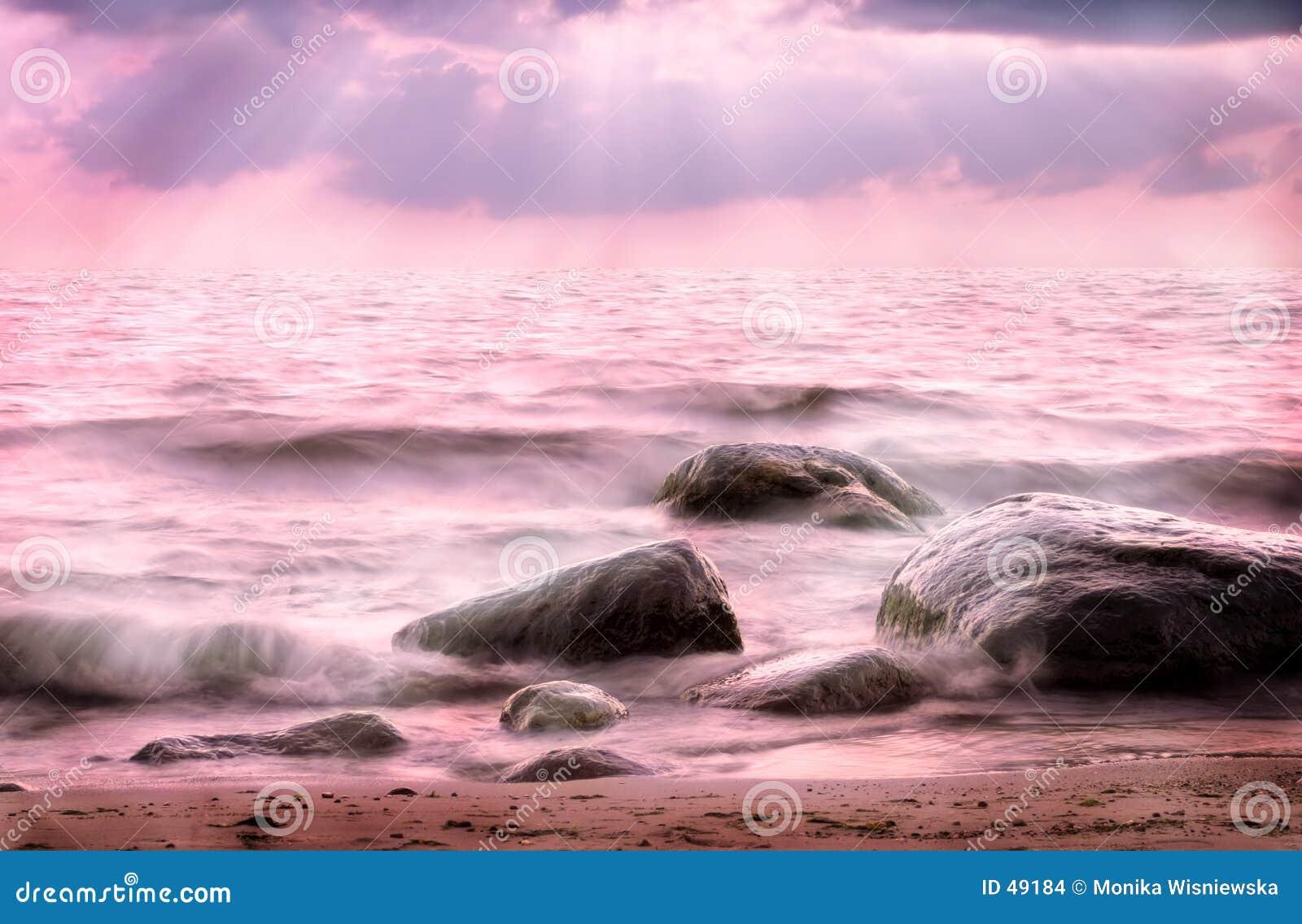 ρόδινη θάλασσα