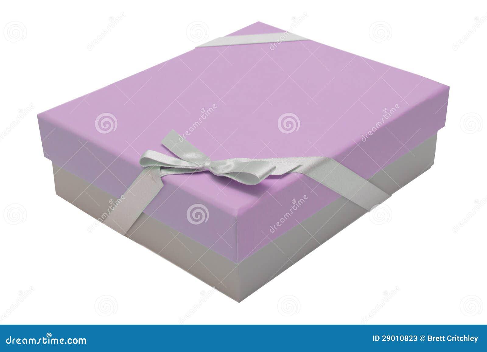 Ρόδινη κορδέλλα κιβωτίων δώρων