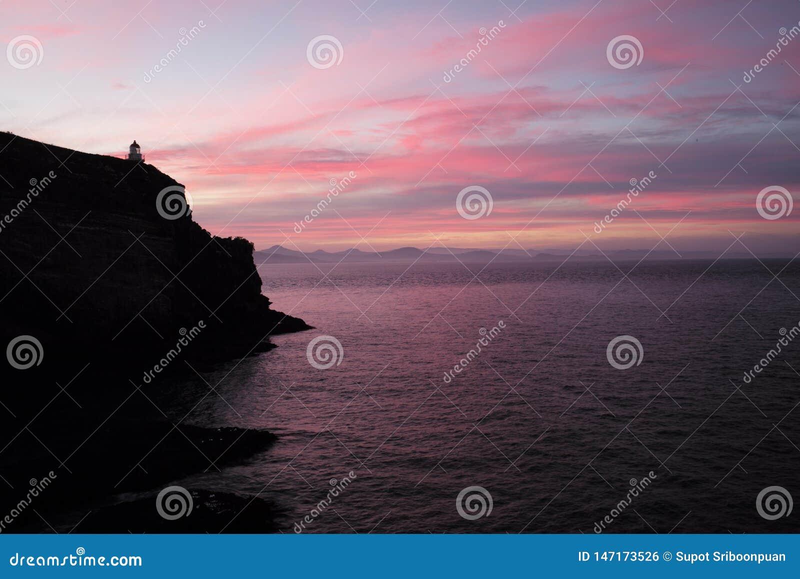 Ρόδινος ουρανός σε νότιο NZ