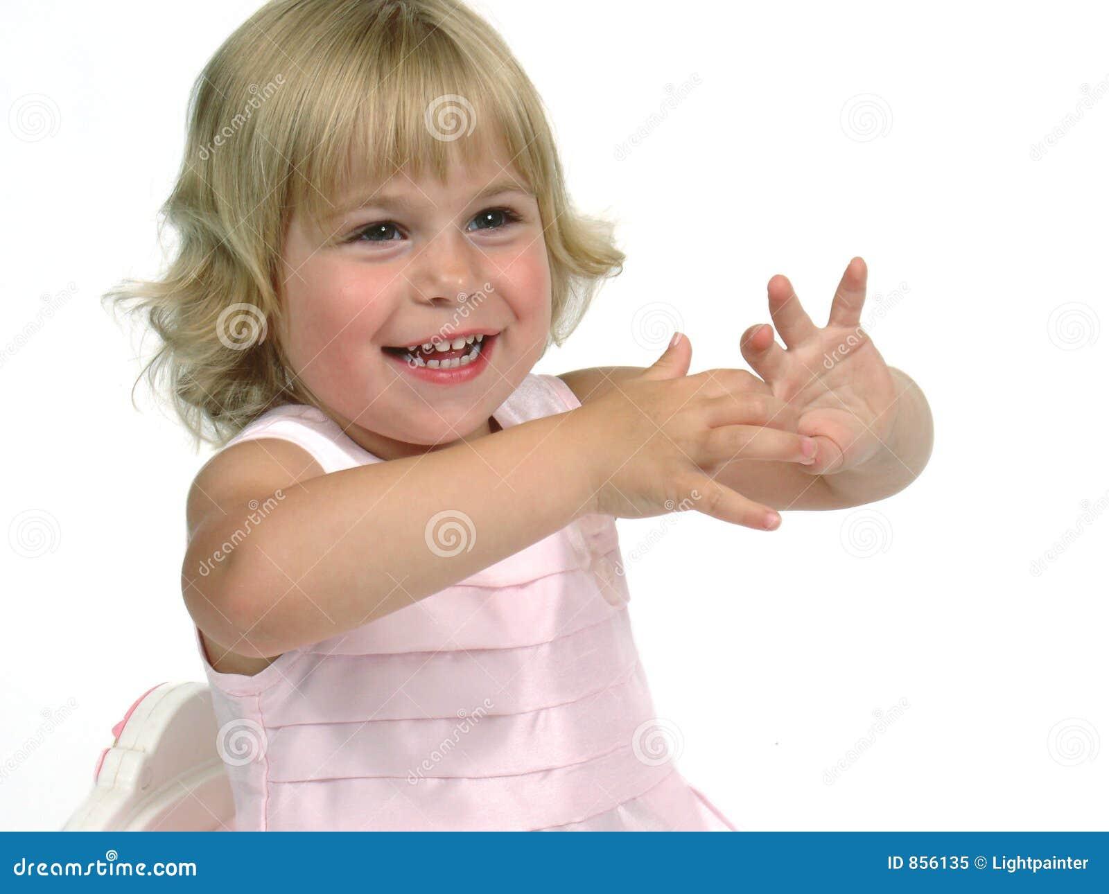 ρόδινο μικρό παιδί φορεμάτων