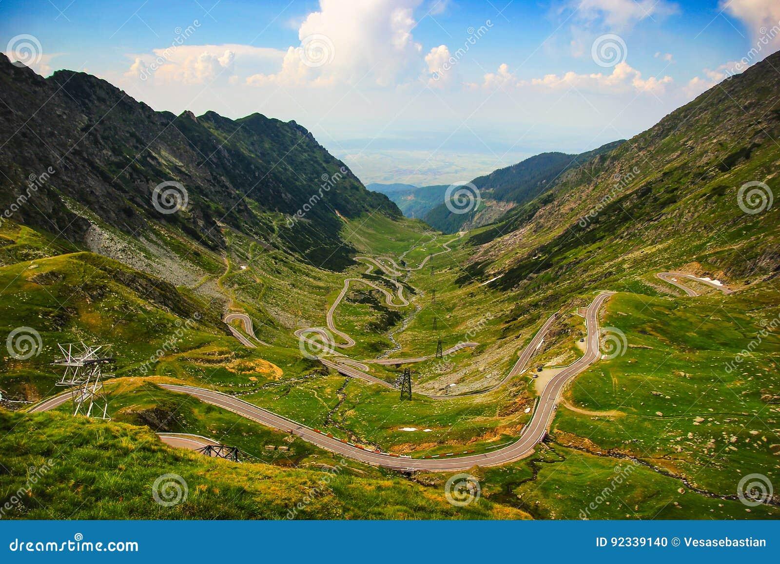 δρόμος Ρουμανία transfagarasan