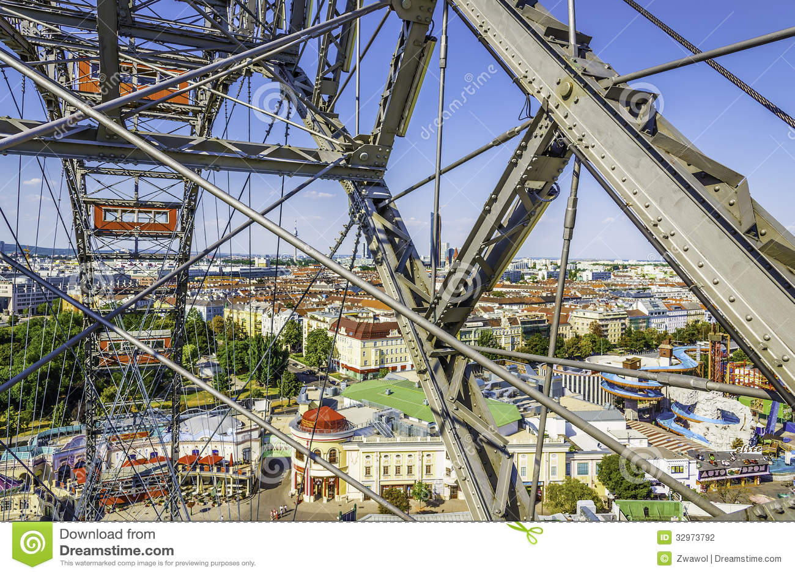 Ρόδα Ferris στο Prater στη Βιέννη