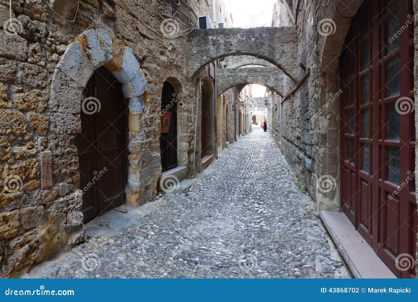 Ρόδος, παλαιά πόλη