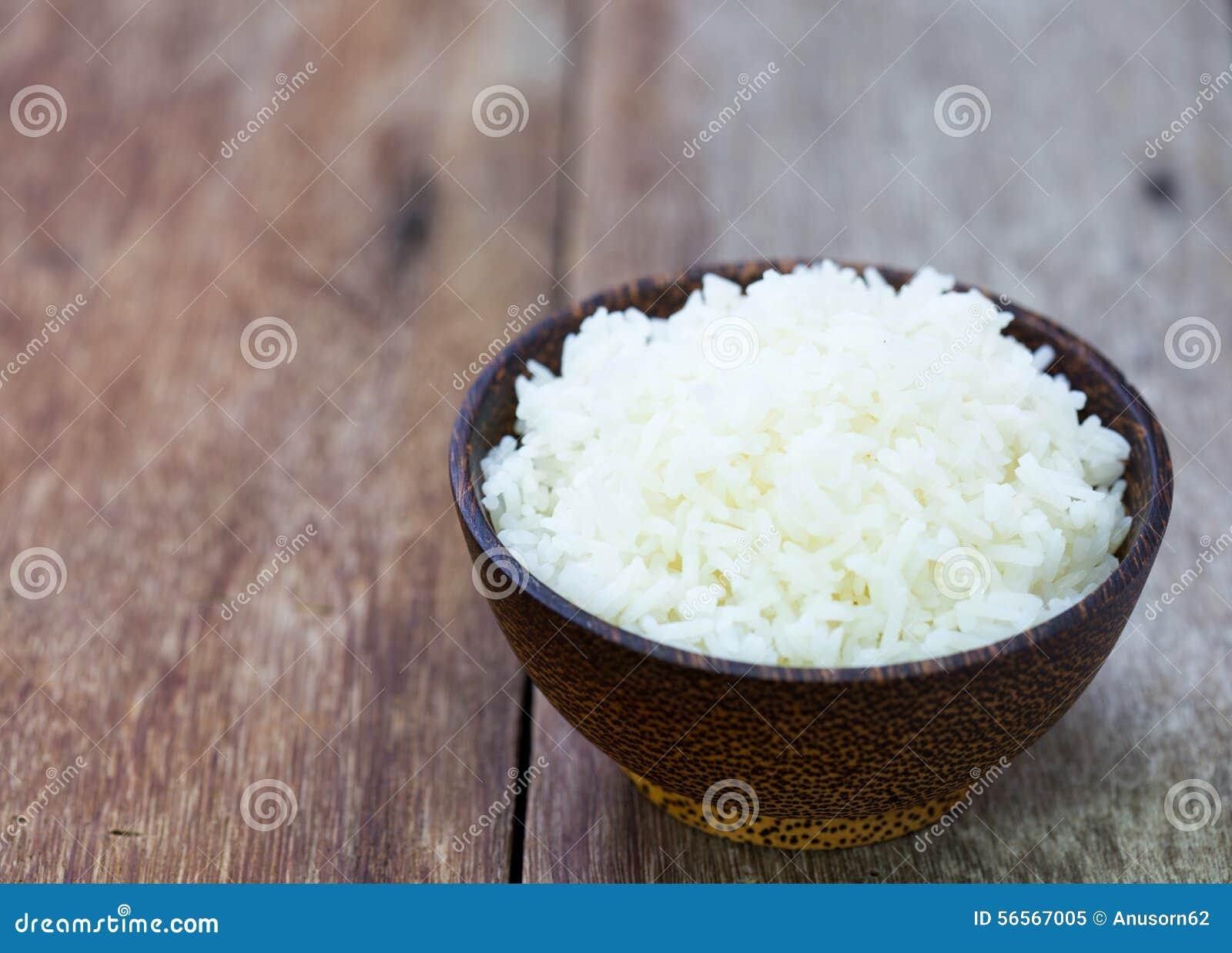 Download Ρύζι της Jasmine σε ένα κύπελλο ρυζιού Στοκ Εικόνα - εικόνα από ατμός, ταϊλανδικά: 56567005