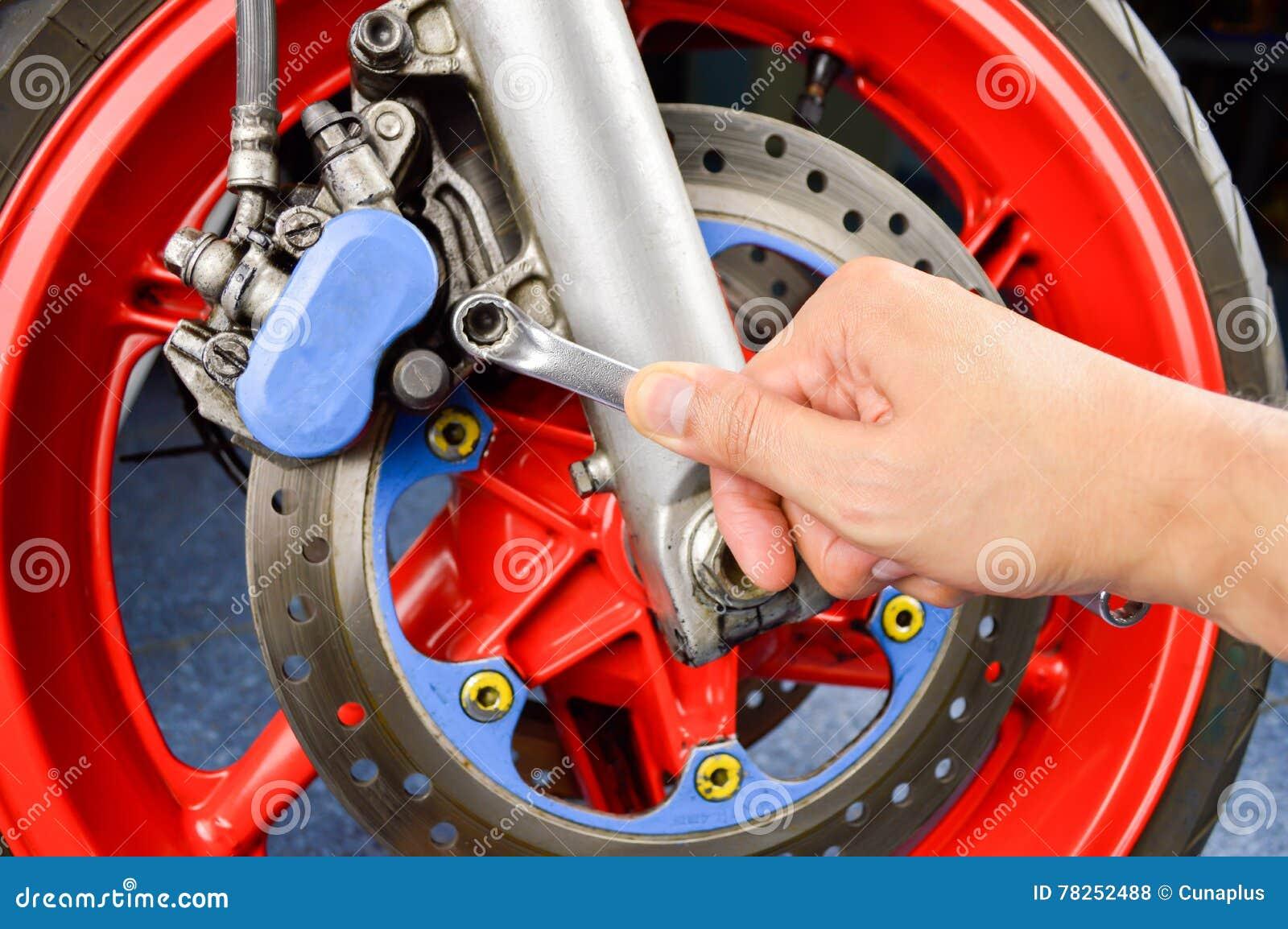 Ρύθμιση της μοτοσικλέτας