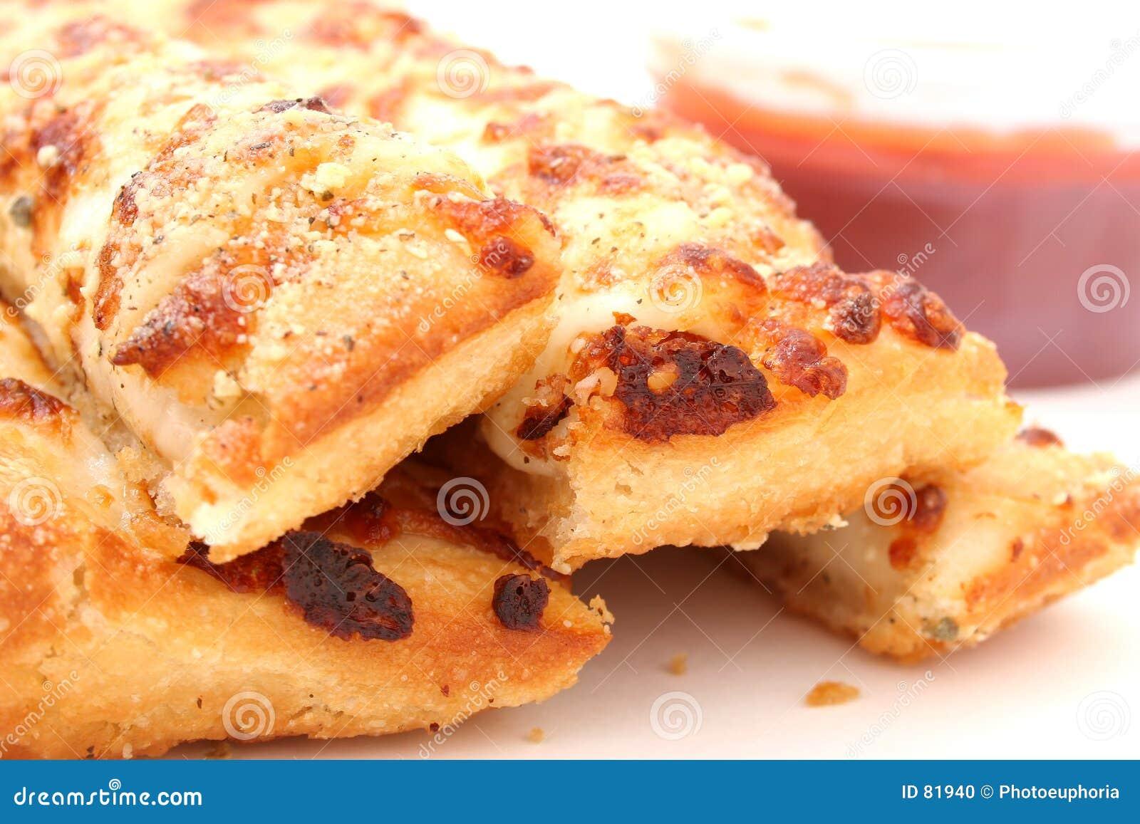 σάλτσα marinara τυριών ψωμιού