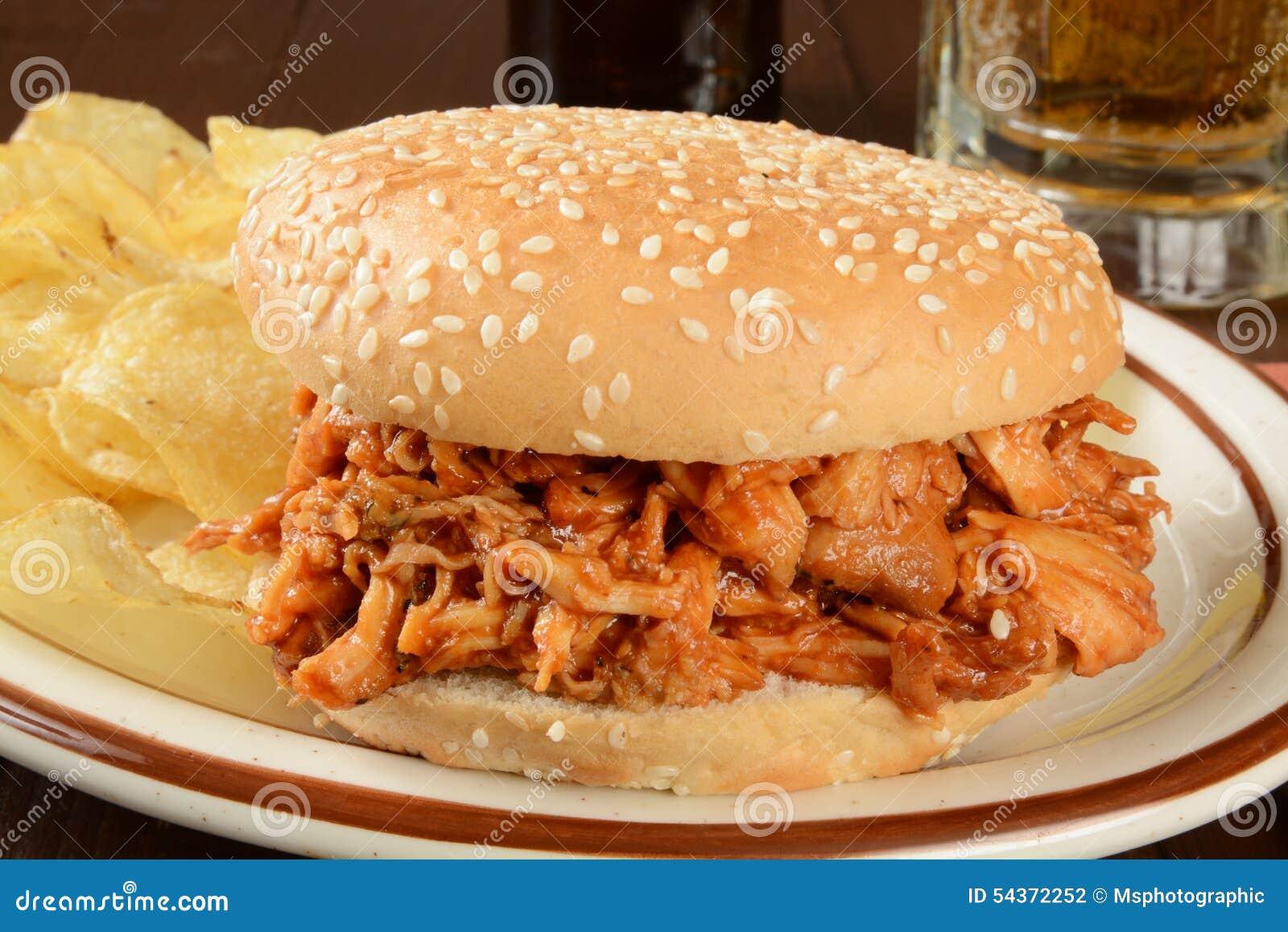 Σάντουιτς κοτόπουλου σχαρών