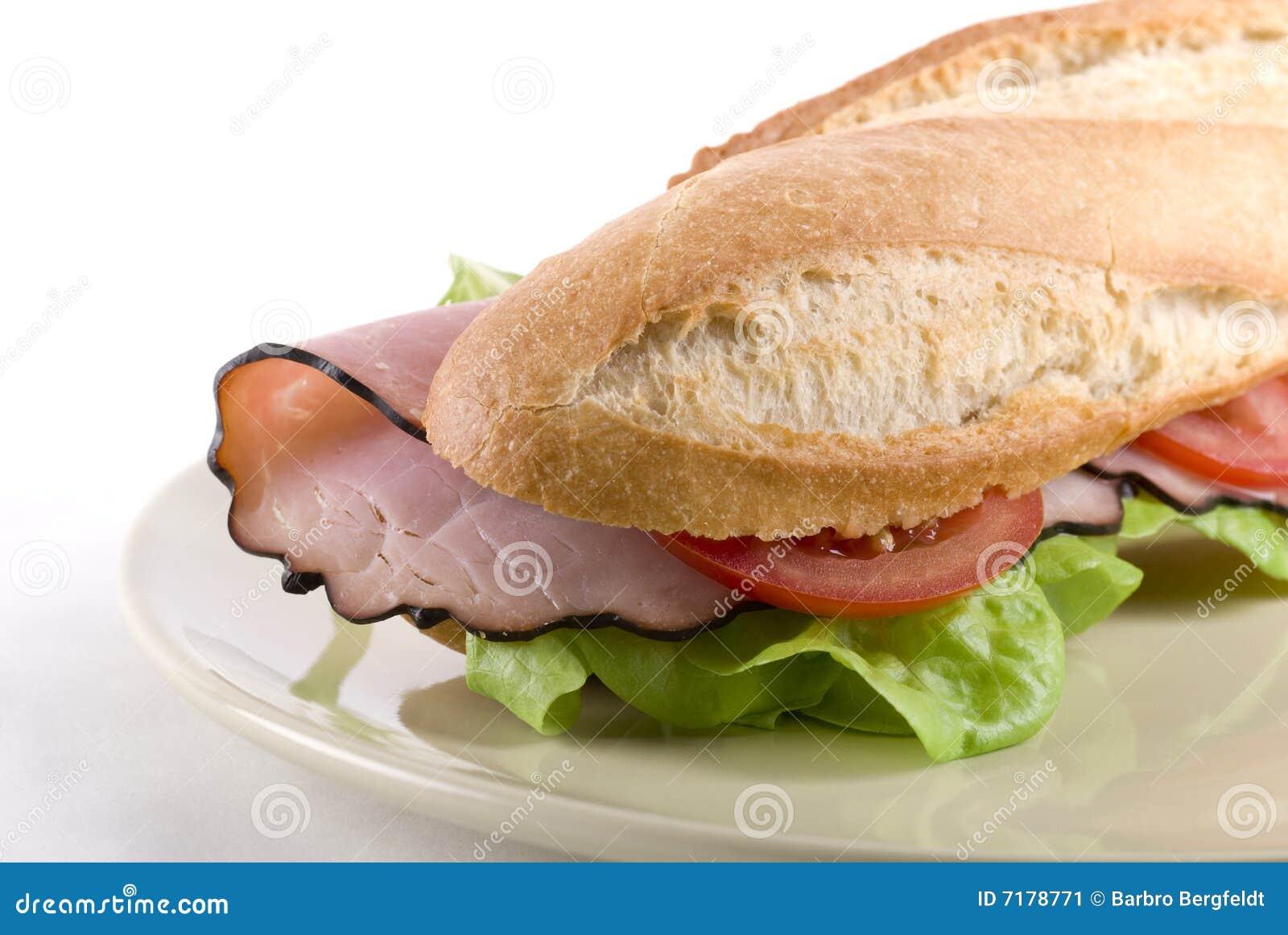 σάντουιτς baguette