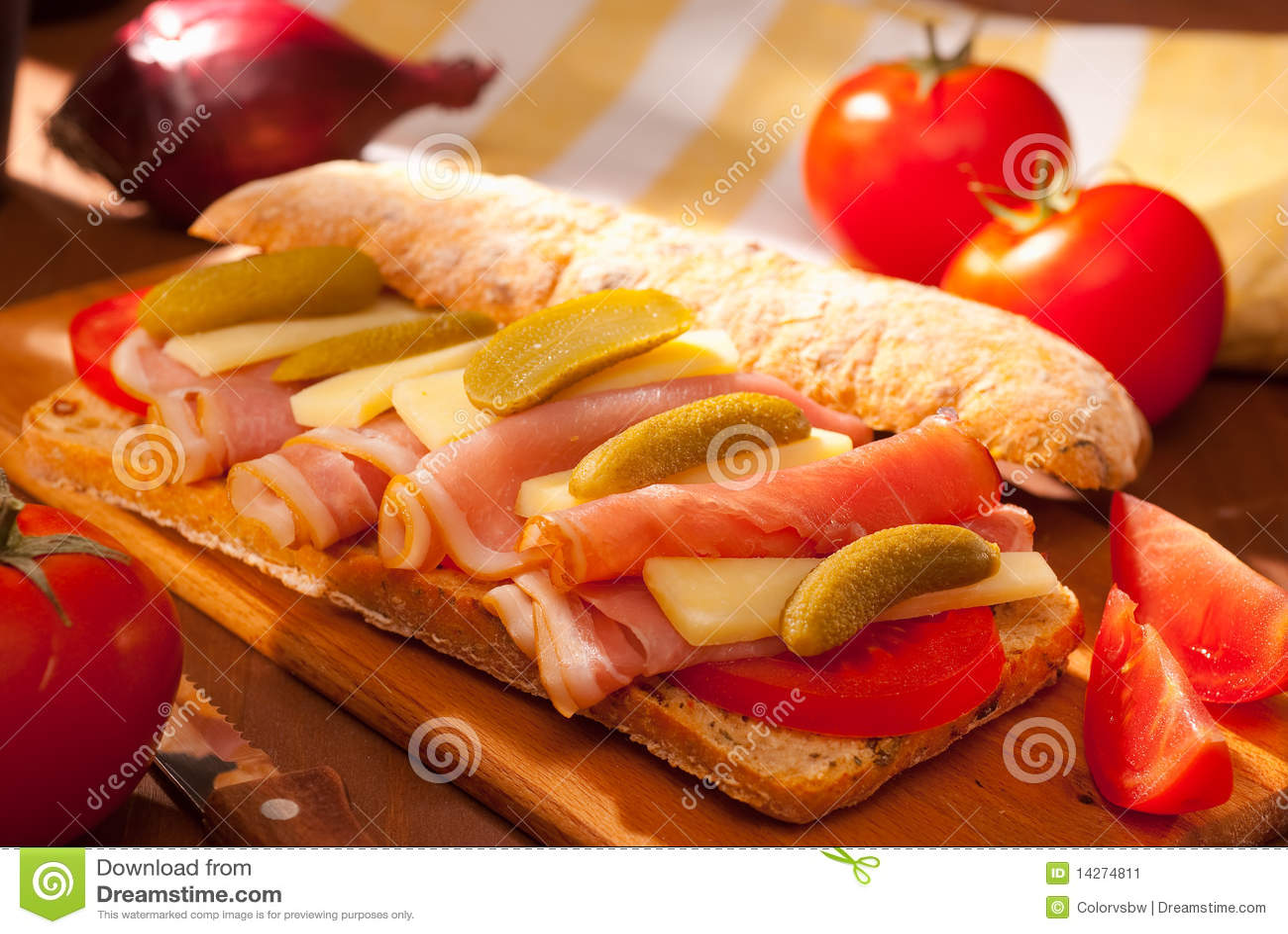 σάντουιτς ciabatta