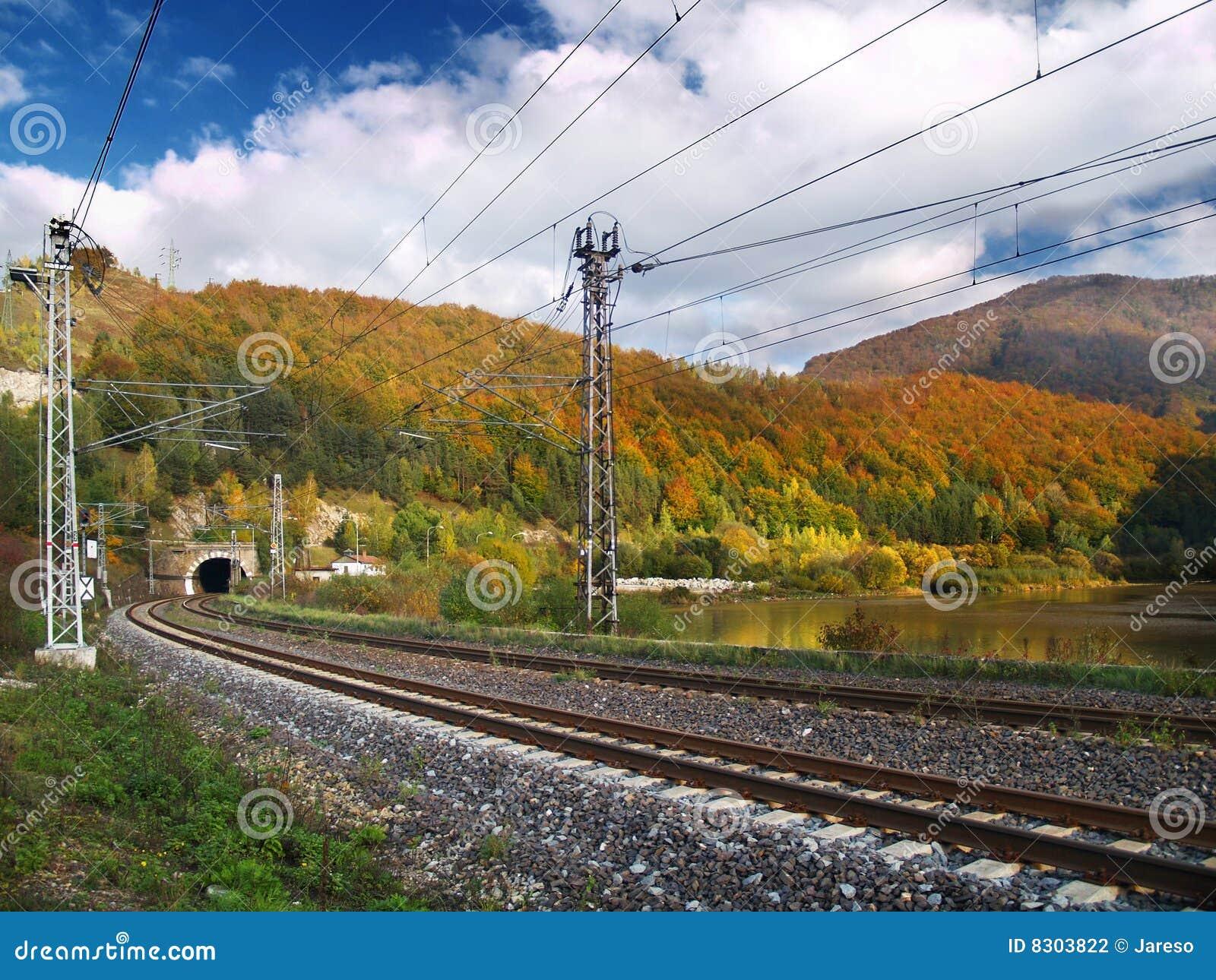 σήραγγα σιδηροδρόμου
