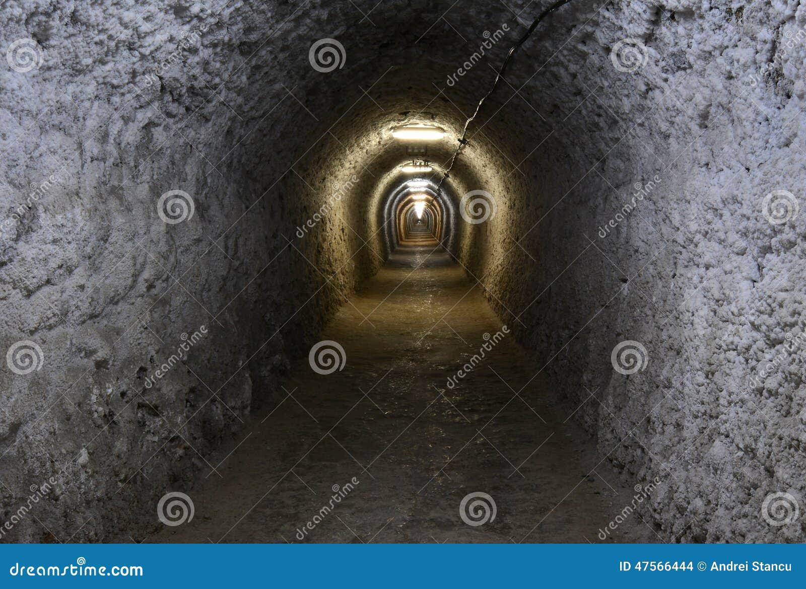 Σήραγγα στο αλατισμένο ορυχείο Turda