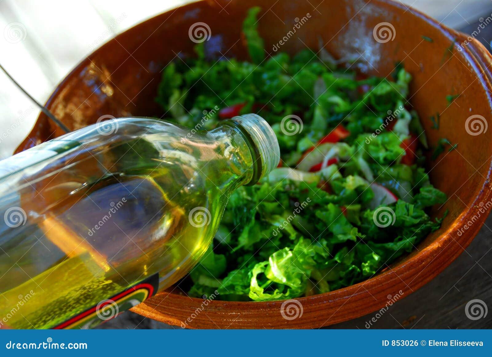 σαλάτα ελιών πετρελαίο&upsilon
