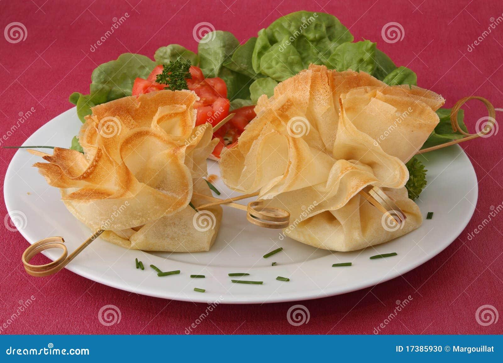 σαλάτα πιάτων filo