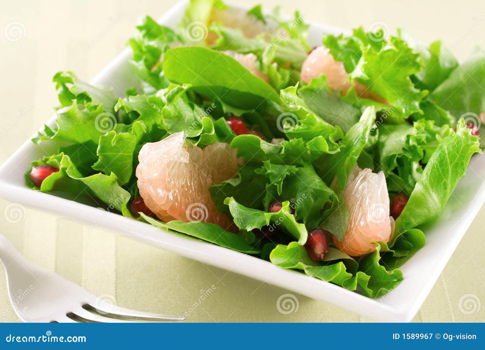 σαλάτα ροδιών γκρέιπφρου&ta