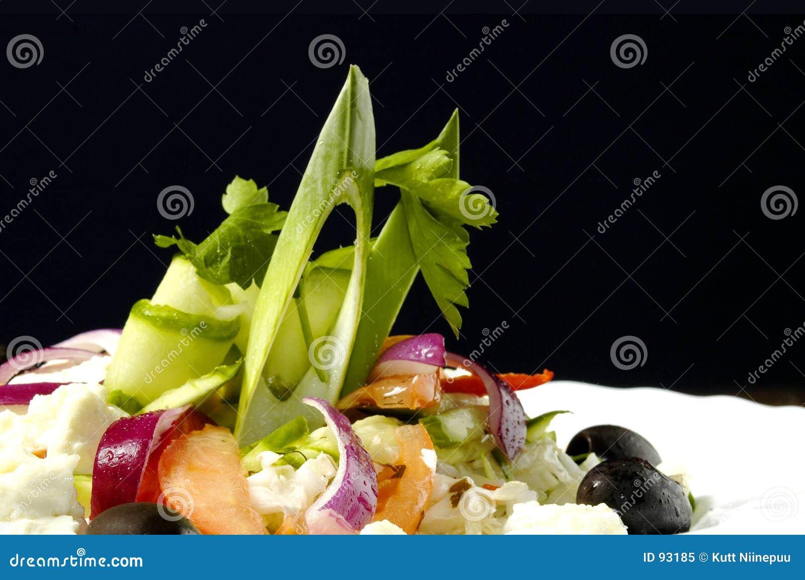 σαλάτα φέτας τυριών