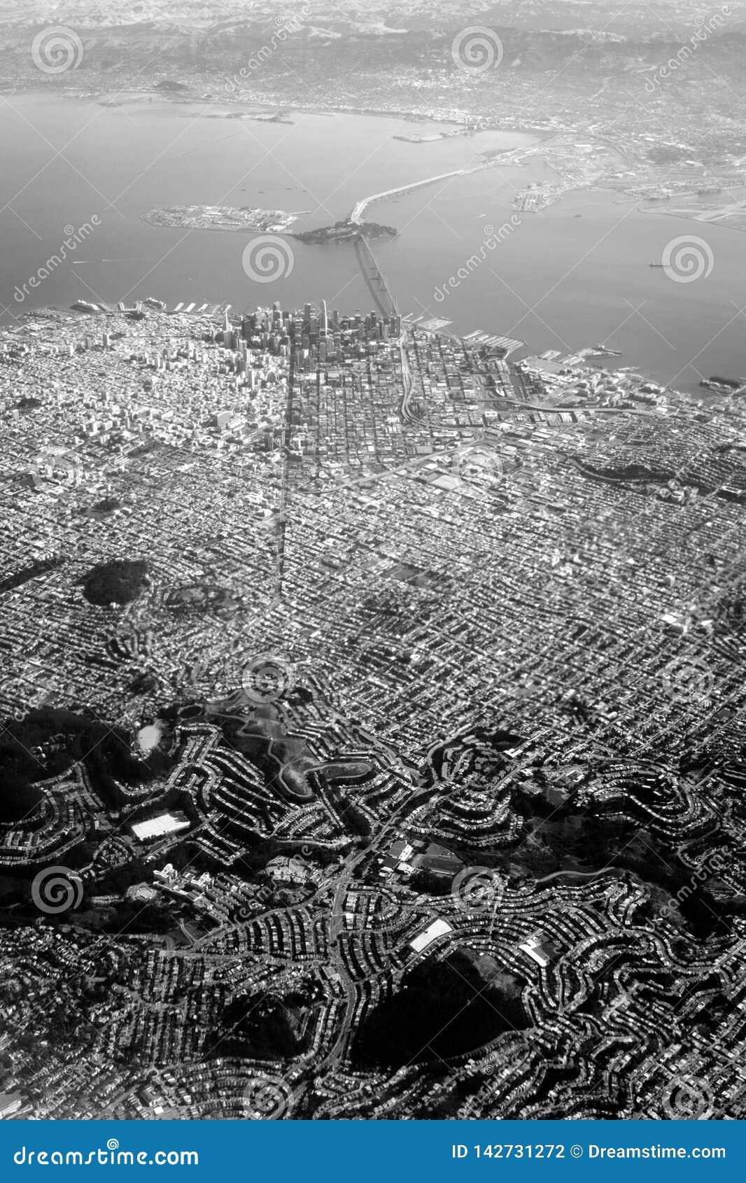 Σαν Φρανσίσκο από τον ουρανό