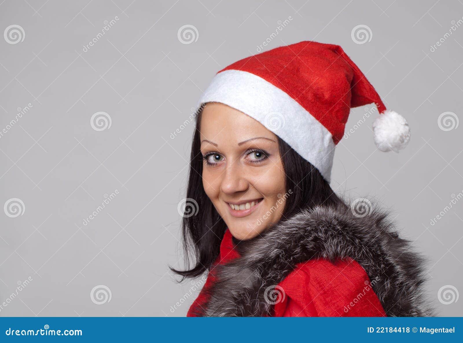 σαν όμορφο ντυμένο Claus santa κορι&