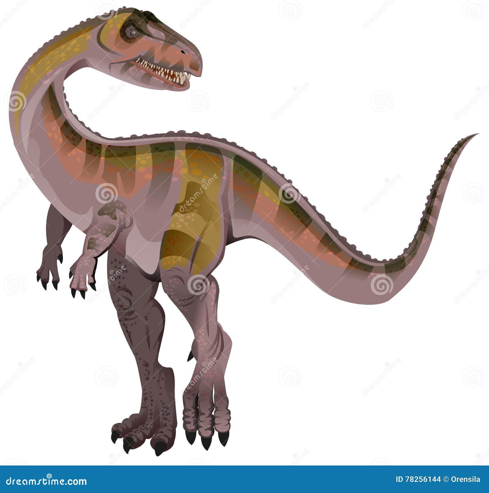 Σαρκοφάγος δεινόσαυρος Allosaurus