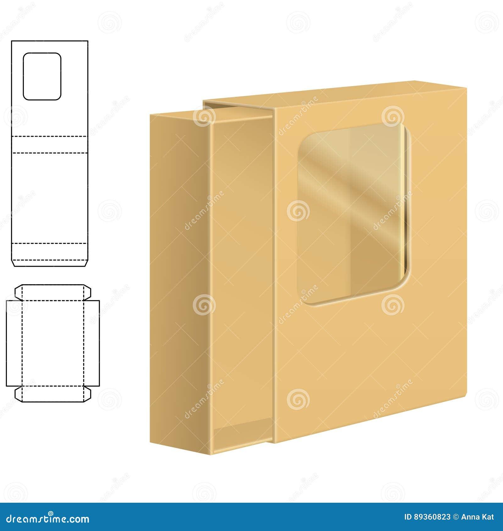 Σαφές κιβώτιο χαρτοκιβωτίων