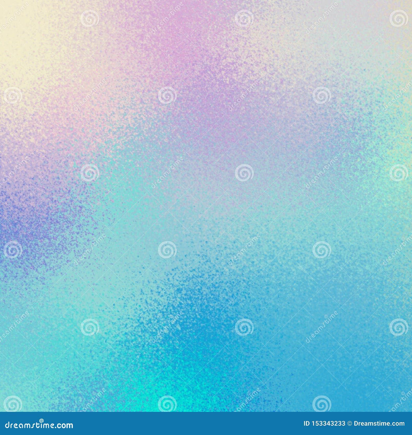 Σαφής παγωμένη σύσταση γυαλιού ουρανού Μπλε ρόδινο shimmer κλίσης bacground