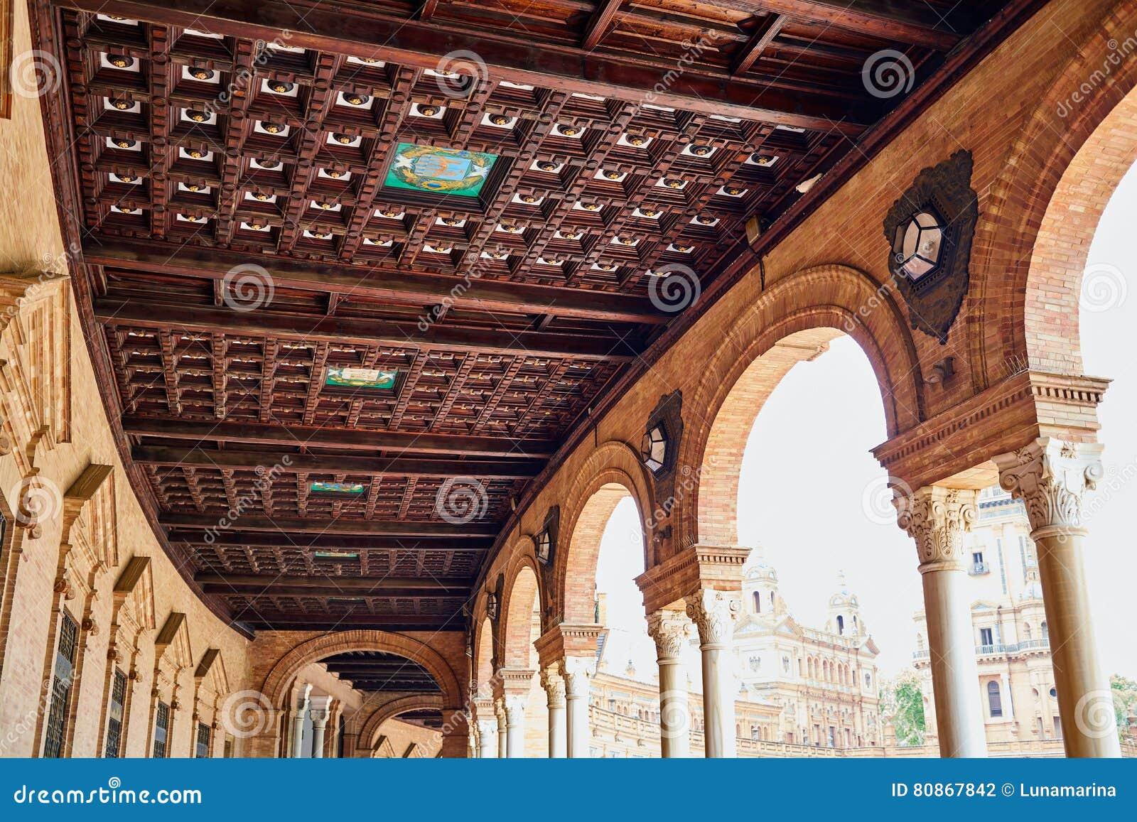 Σεβίλη Σεβίλλη Plaza de Espana Ανδαλουσία Ισπανία