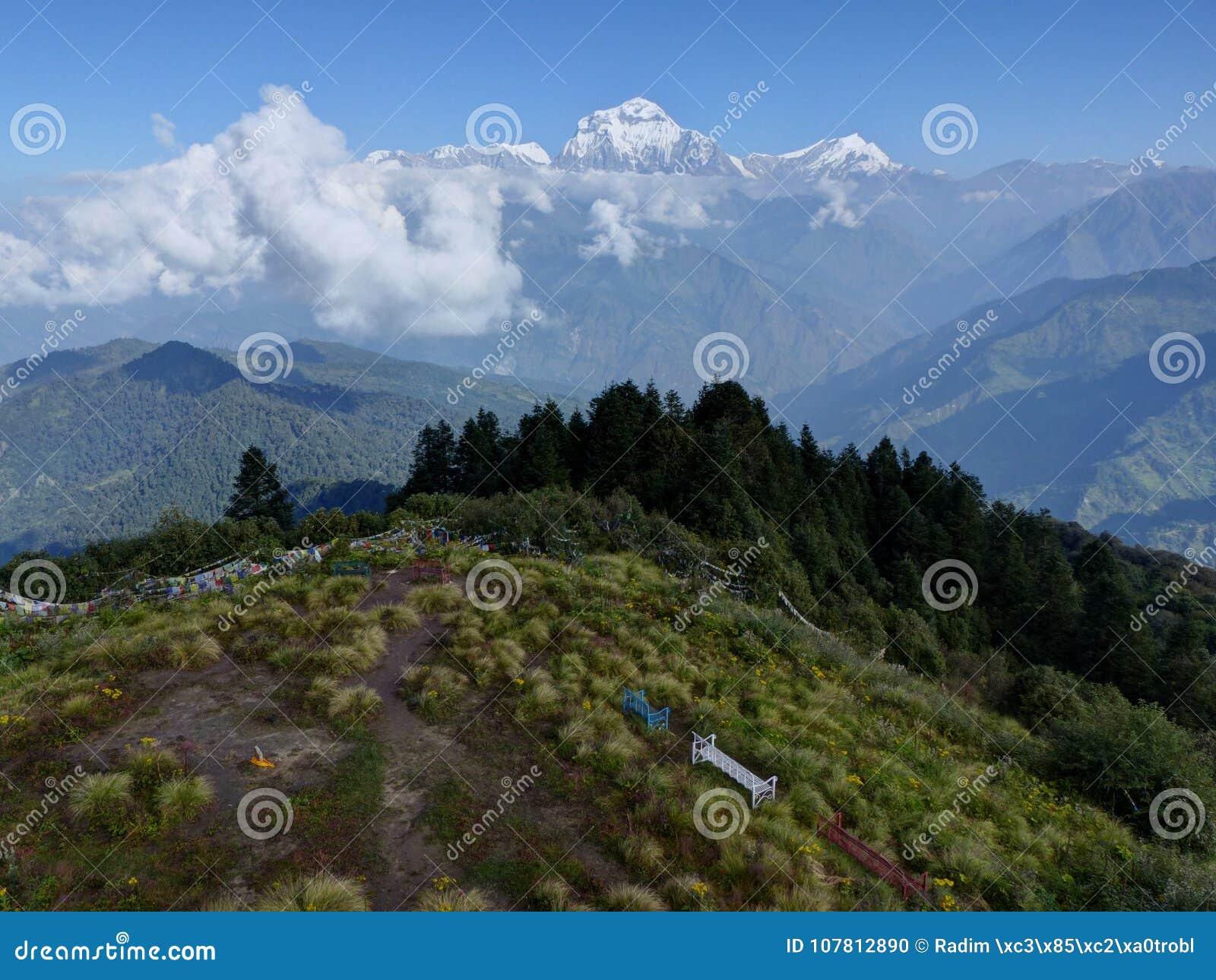 Σειρά Dhaulagiri από το Hill Poon, Νεπάλ