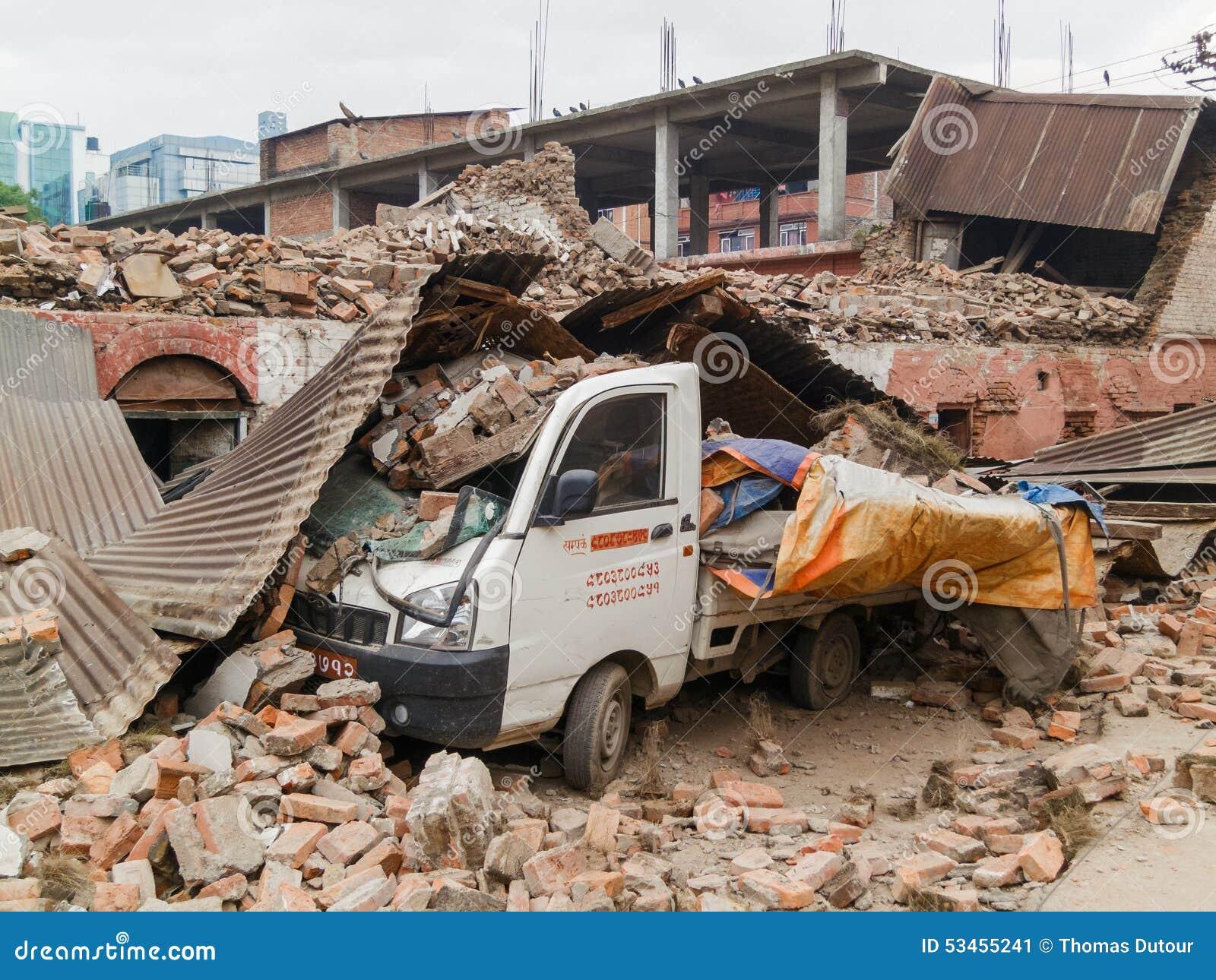 Σεισμός του Νεπάλ στο Κατμαντού