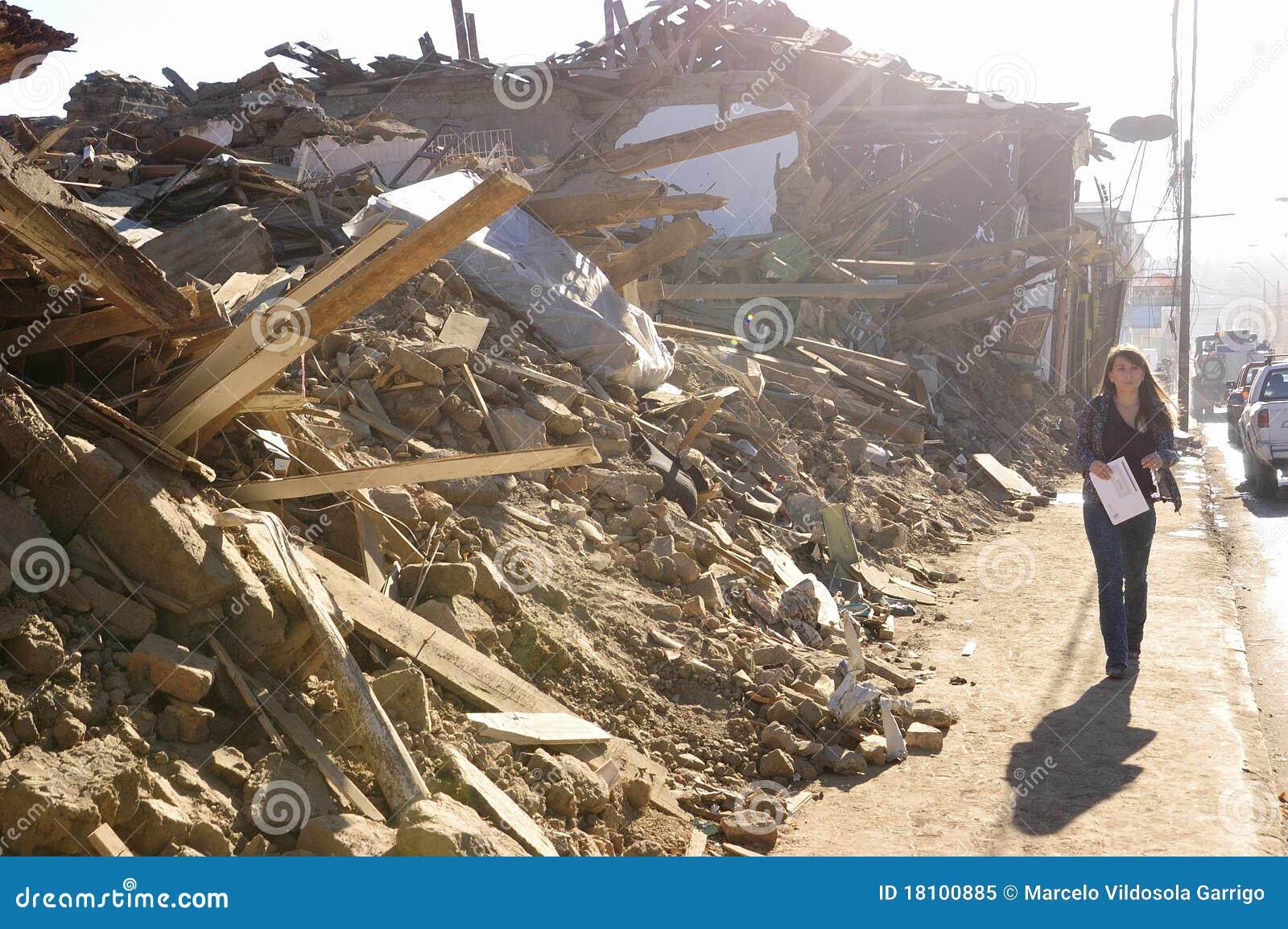σεισμός 8 Χιλή richter
