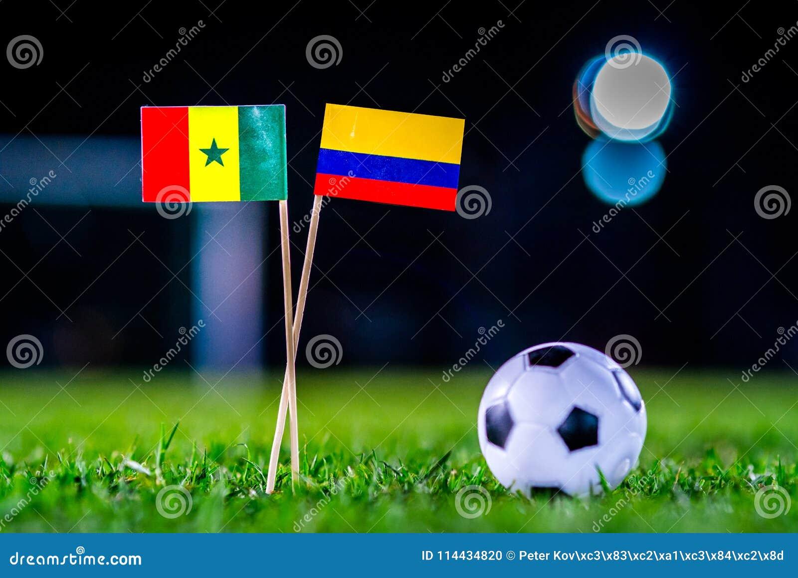 Σενεγάλη - Κολούμπια, ομάδα Χ, Πέμπτη, 28 Ποδόσφαιρο Ιουνίου, κόσμος