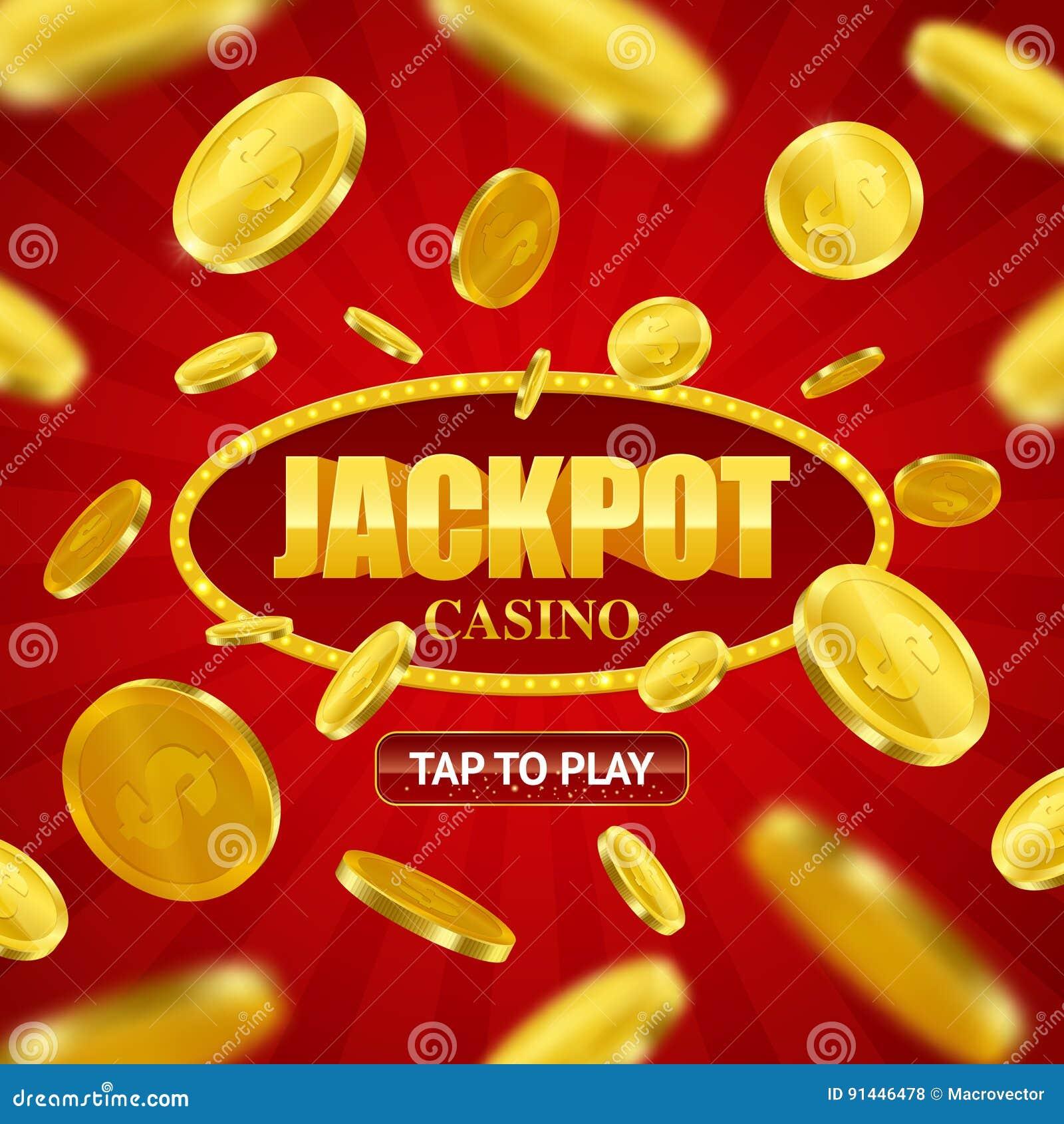 Σε απευθείας σύνδεση σχέδιο υποβάθρου χαρτοπαικτικών λεσχών τζακ ποτ