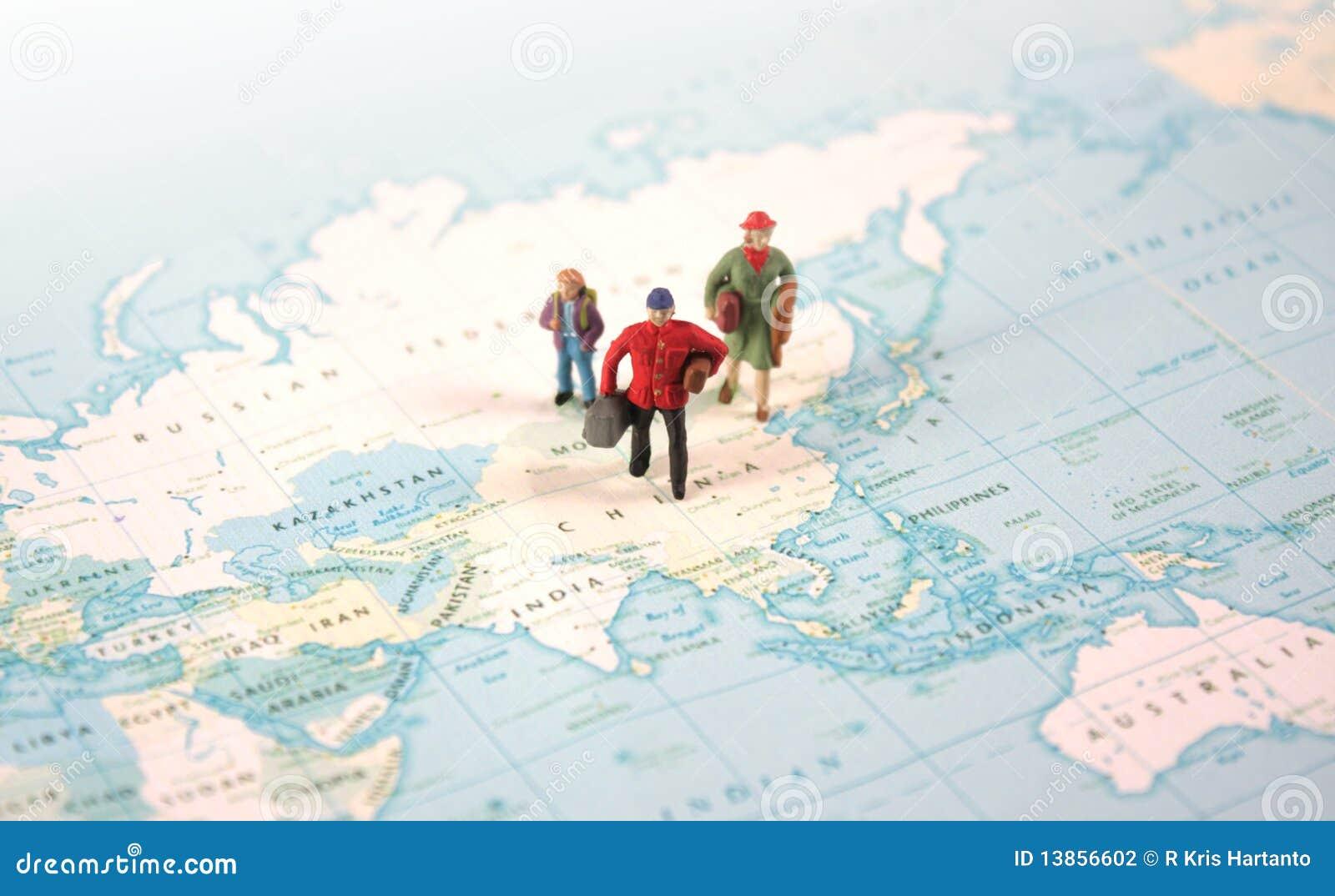 σε όλο τον κόσμο ταξιδιού