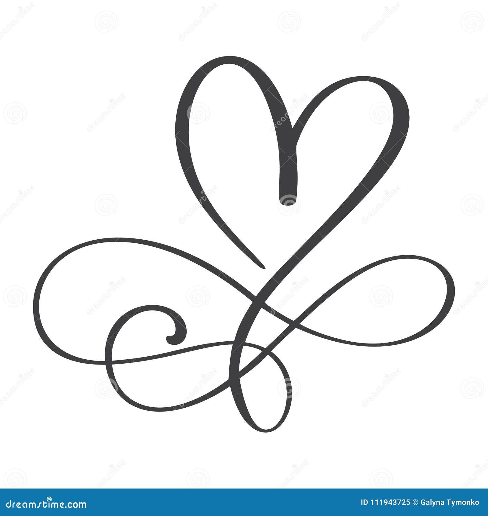 Σημάδι αγάπης καρδιών για πάντα Το ρομαντικό σύμβολο απείρου που συνδέεται, ενώνει, πάθος και γάμος Πρότυπο για την μπλούζα, κάρτ